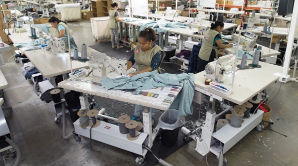 American Giant makes its clothing in one of the few North Carolina factories that hasn't shut down since the 1990s. [Photo: courtesy of American Giant]