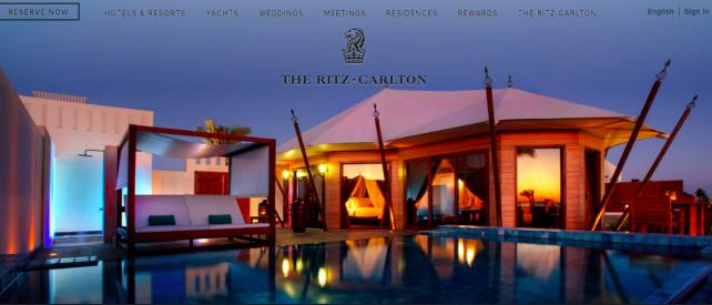 Study finds the Ritz's influencers in March had highest proportion of fake followers. Credit: Ritz-Carlton