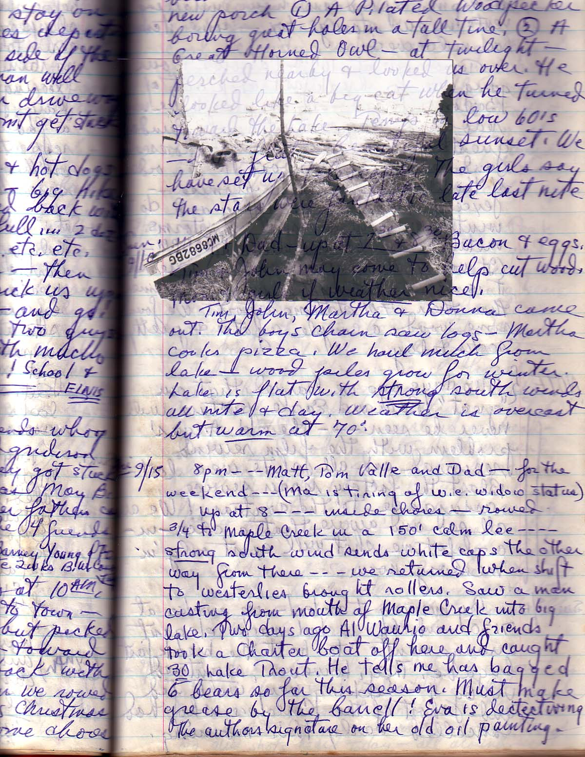 BOAT: JOURNAL PAGE 2