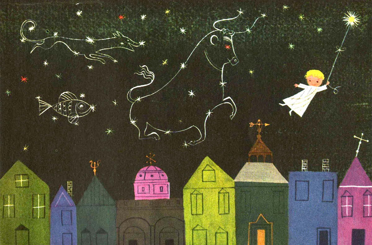 Illustration by Alice and Martin Provensen from Vintage Kids' Books My Kid Loves blog.