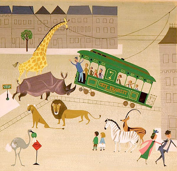Illustration by the Provensens from Animalarium blog.