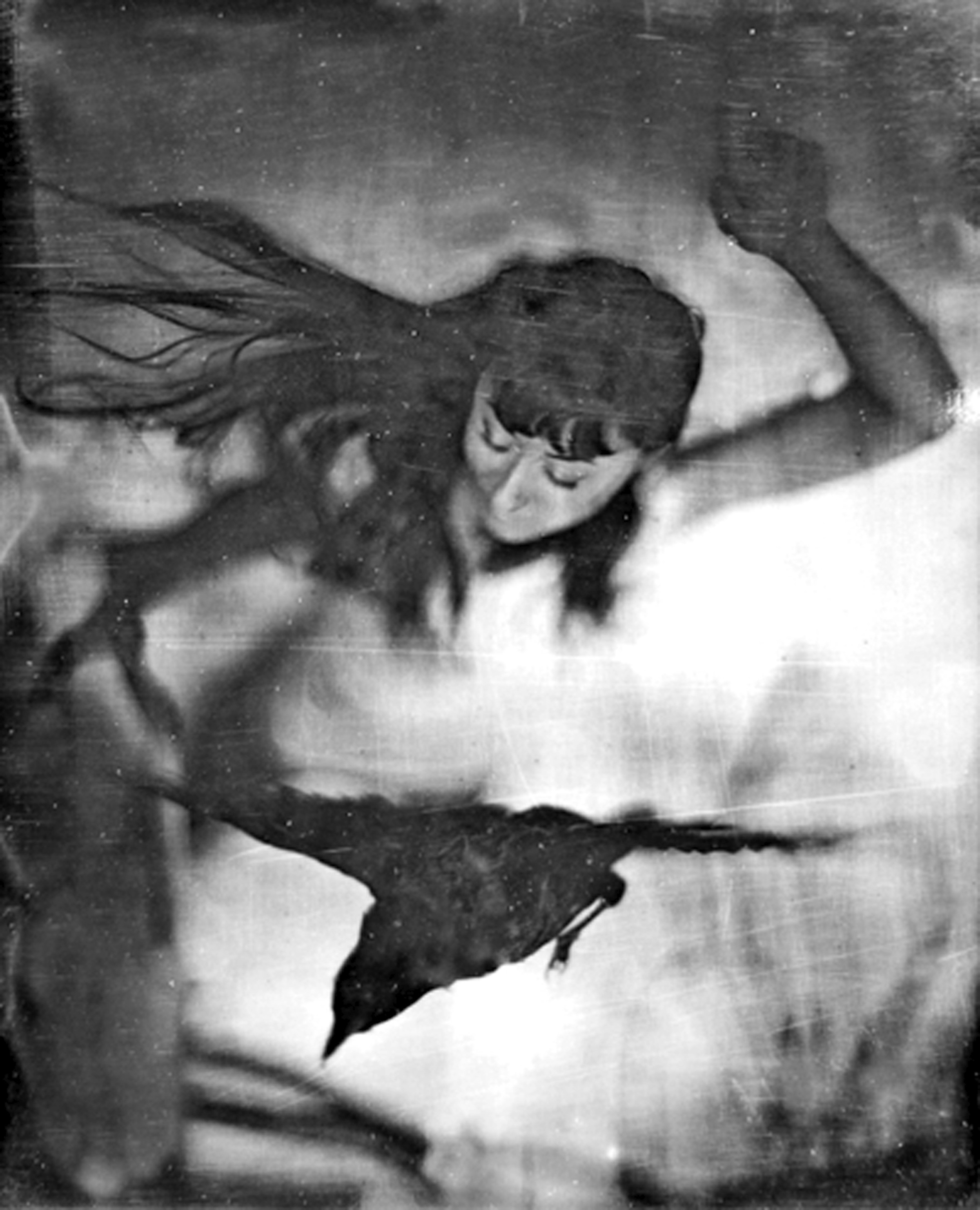 "As Above So Below (Andrea)  14"" x 11""  Collodion"