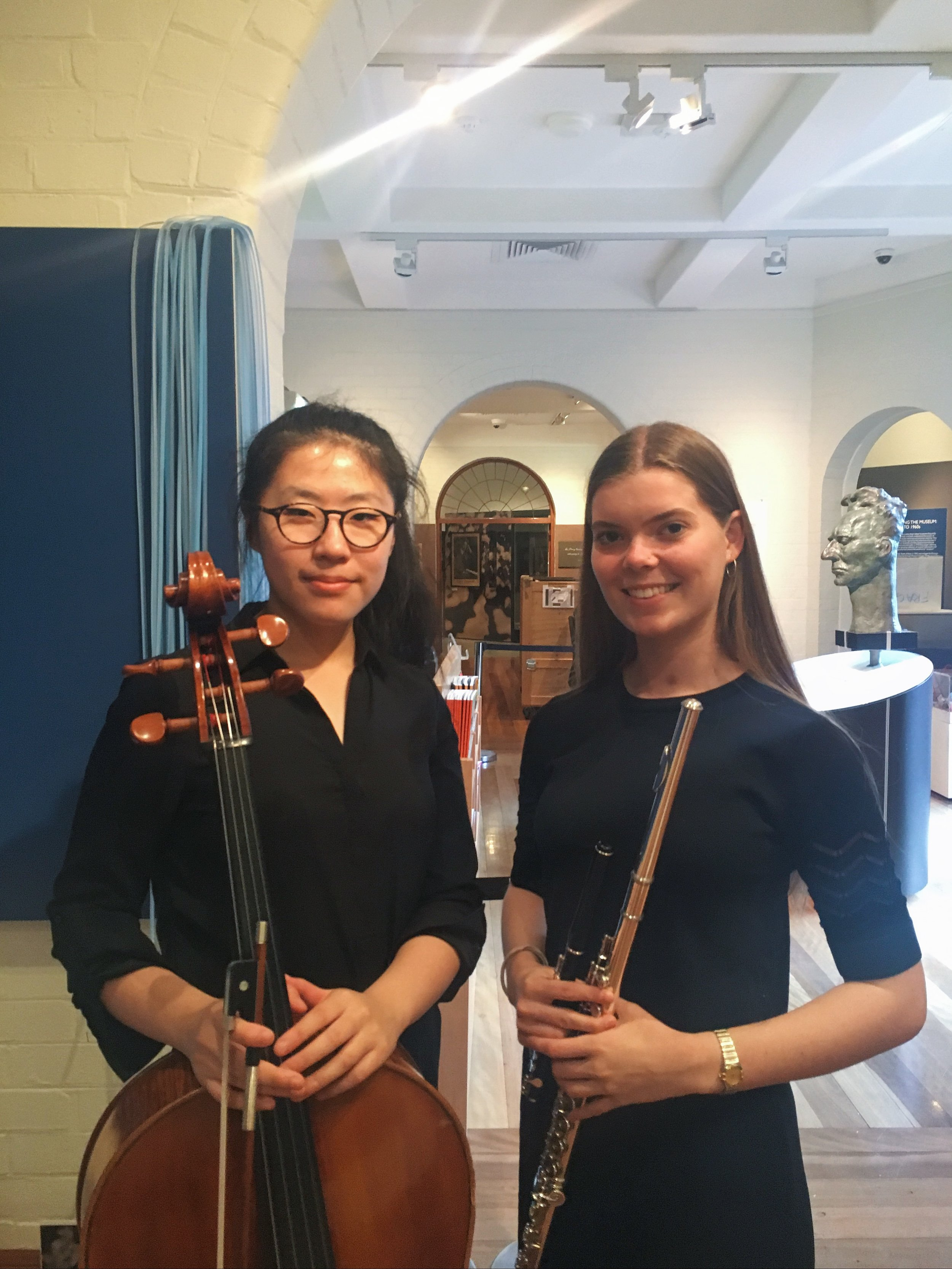 Danna Yun and Lindsay Hicks, Grainger Museum