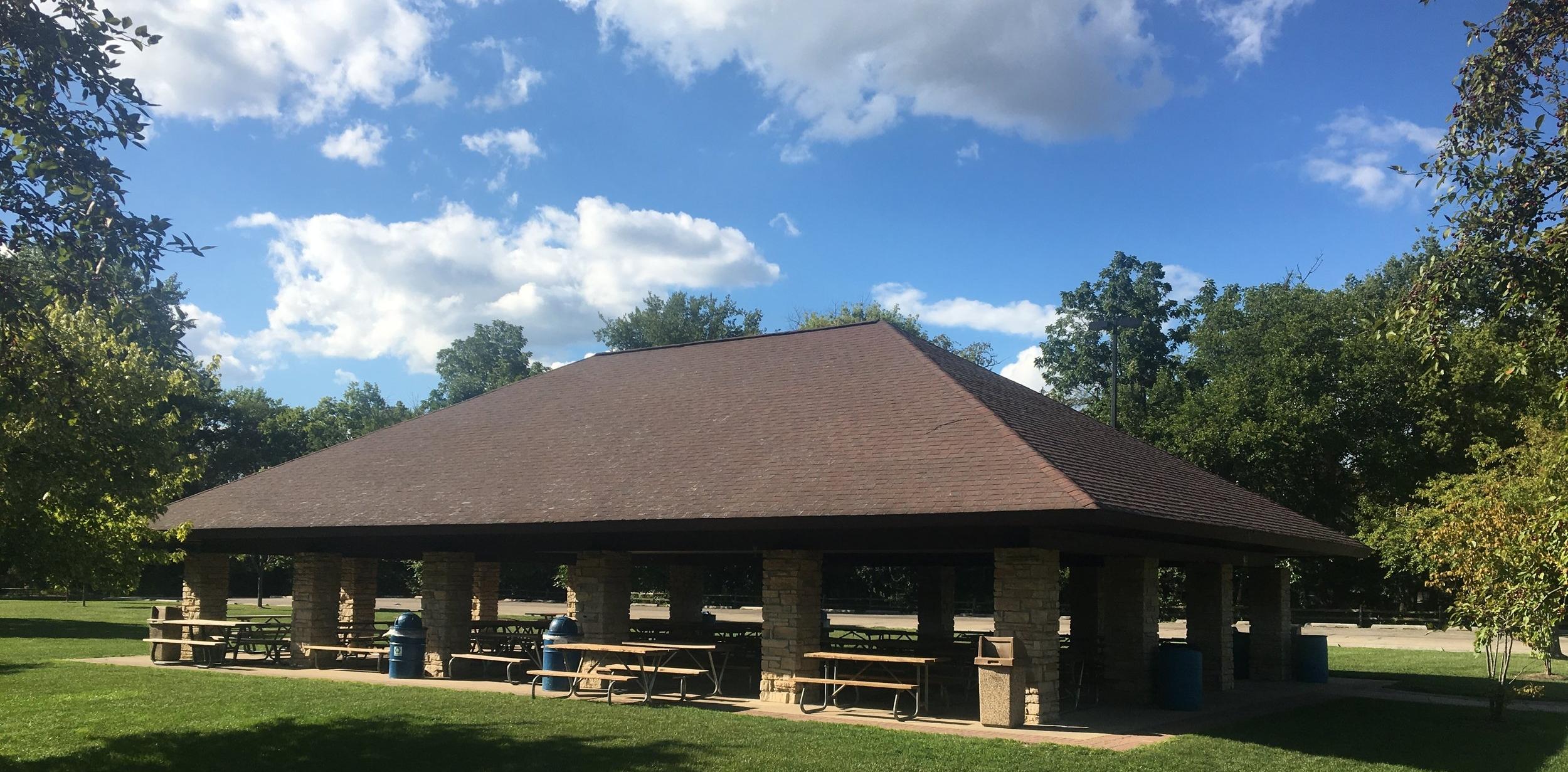 Naperville Riverwalk Grand Pavilion