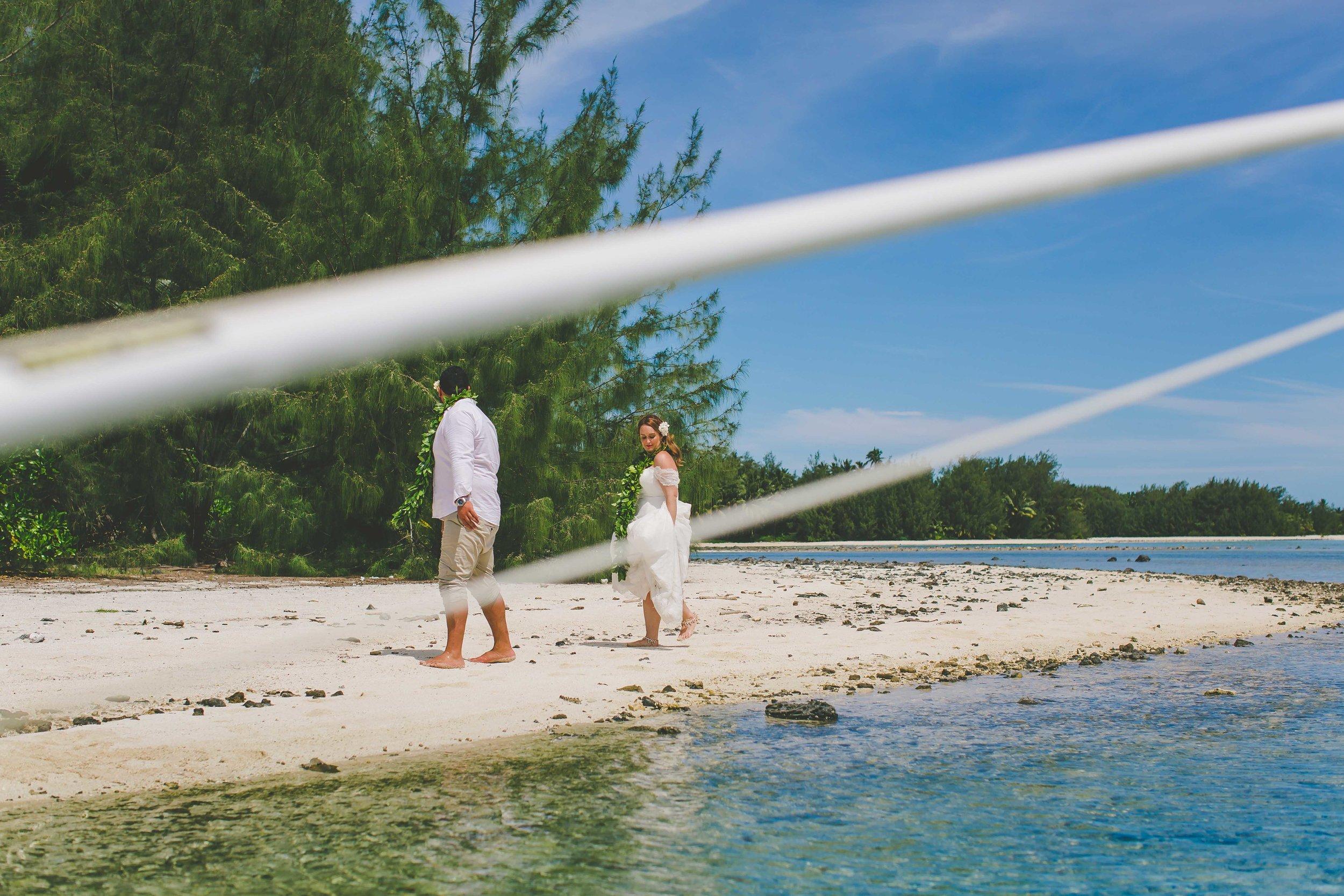 Deserted island Rarotonga