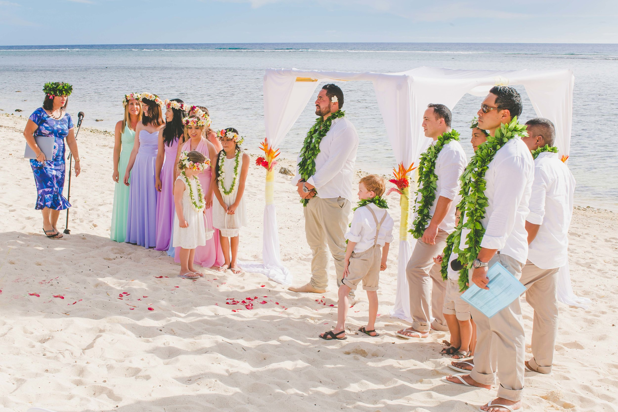 do it yourself rarotonga wedding
