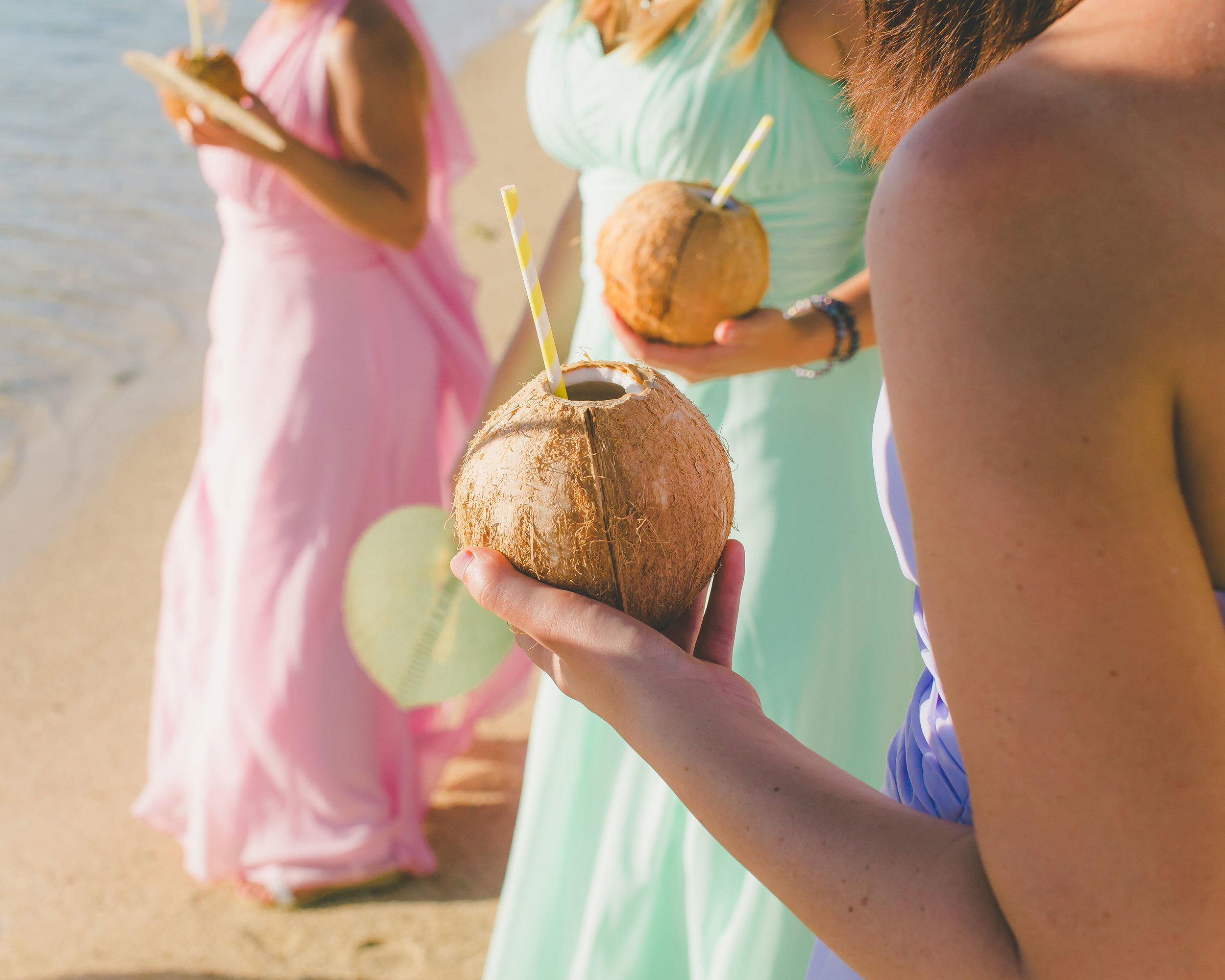 coconut water rarotonga