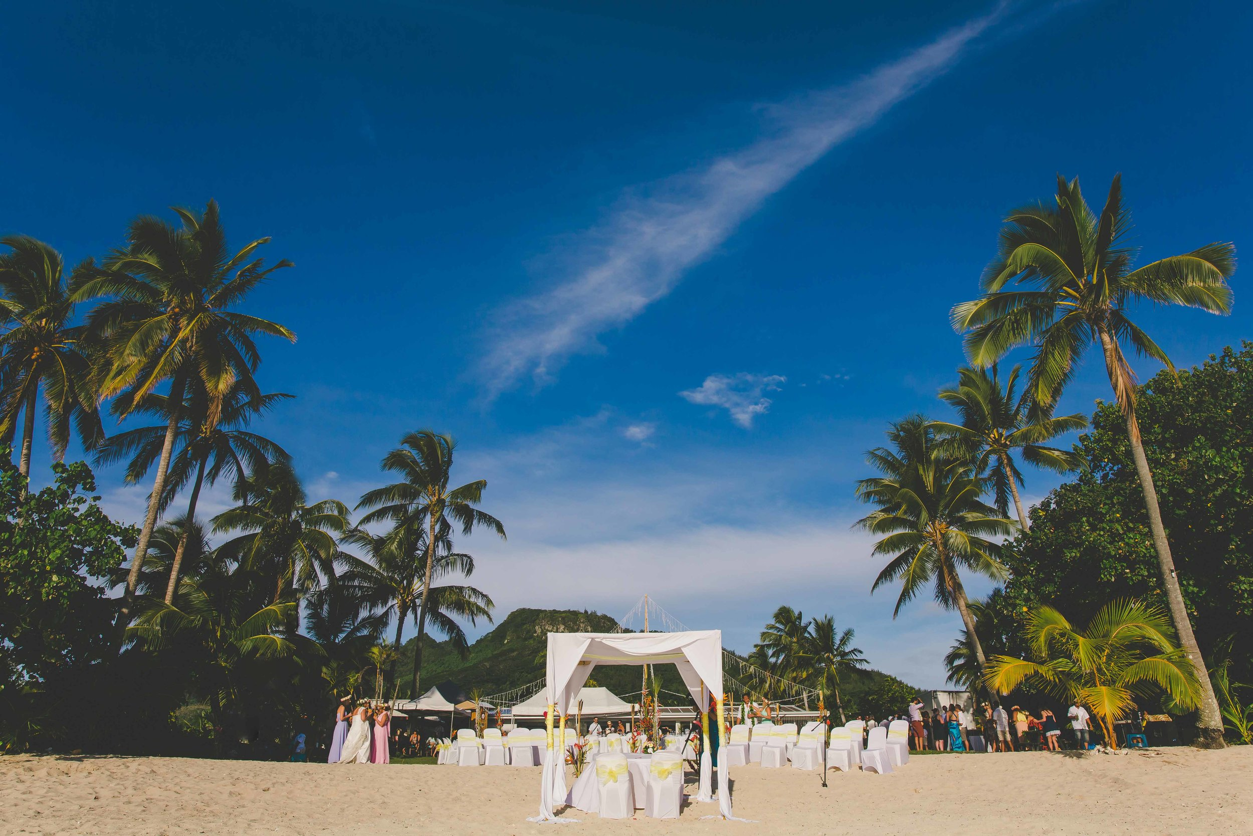 Private wedding Rarotonga