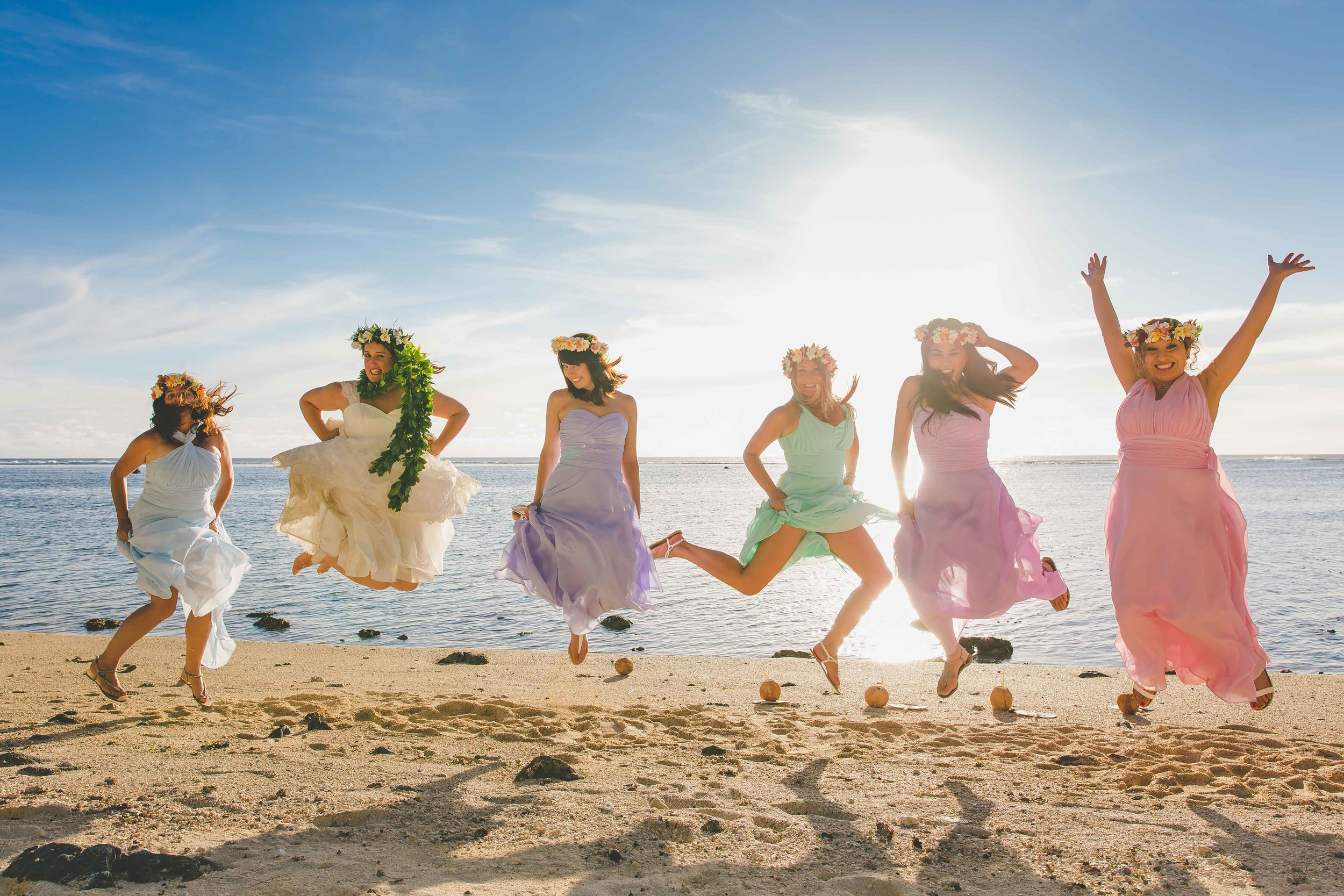 adventure wedding rarotonga