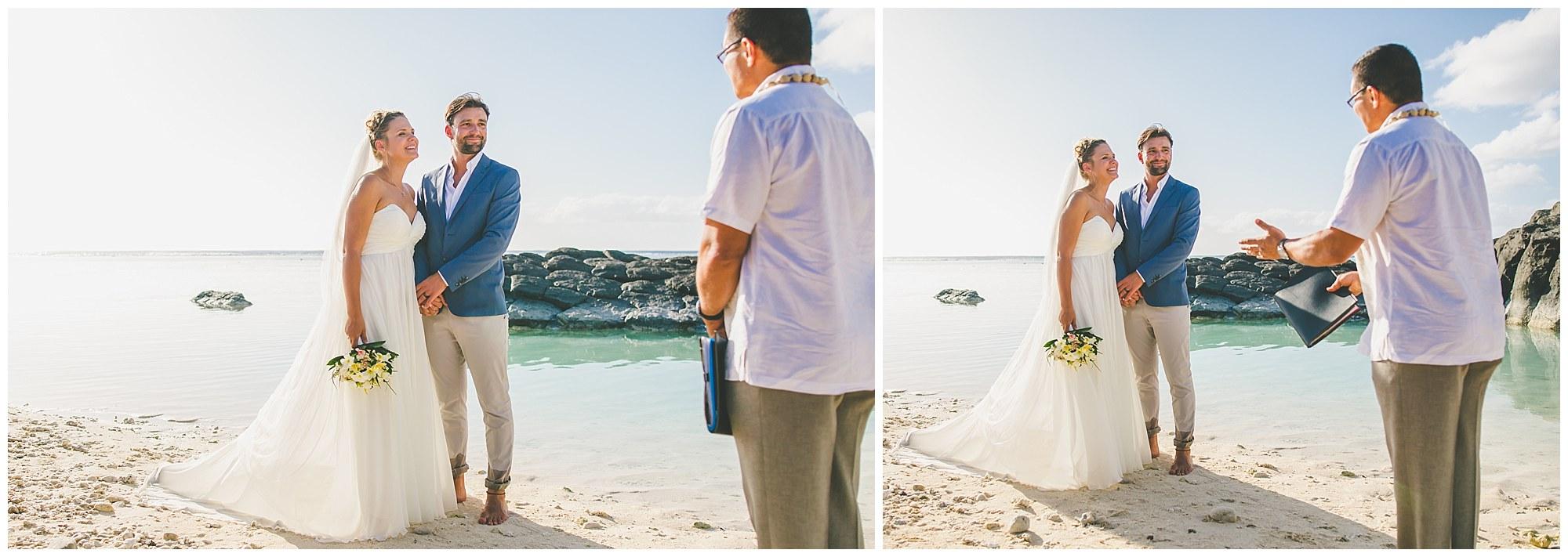 wedding vows rarotonga