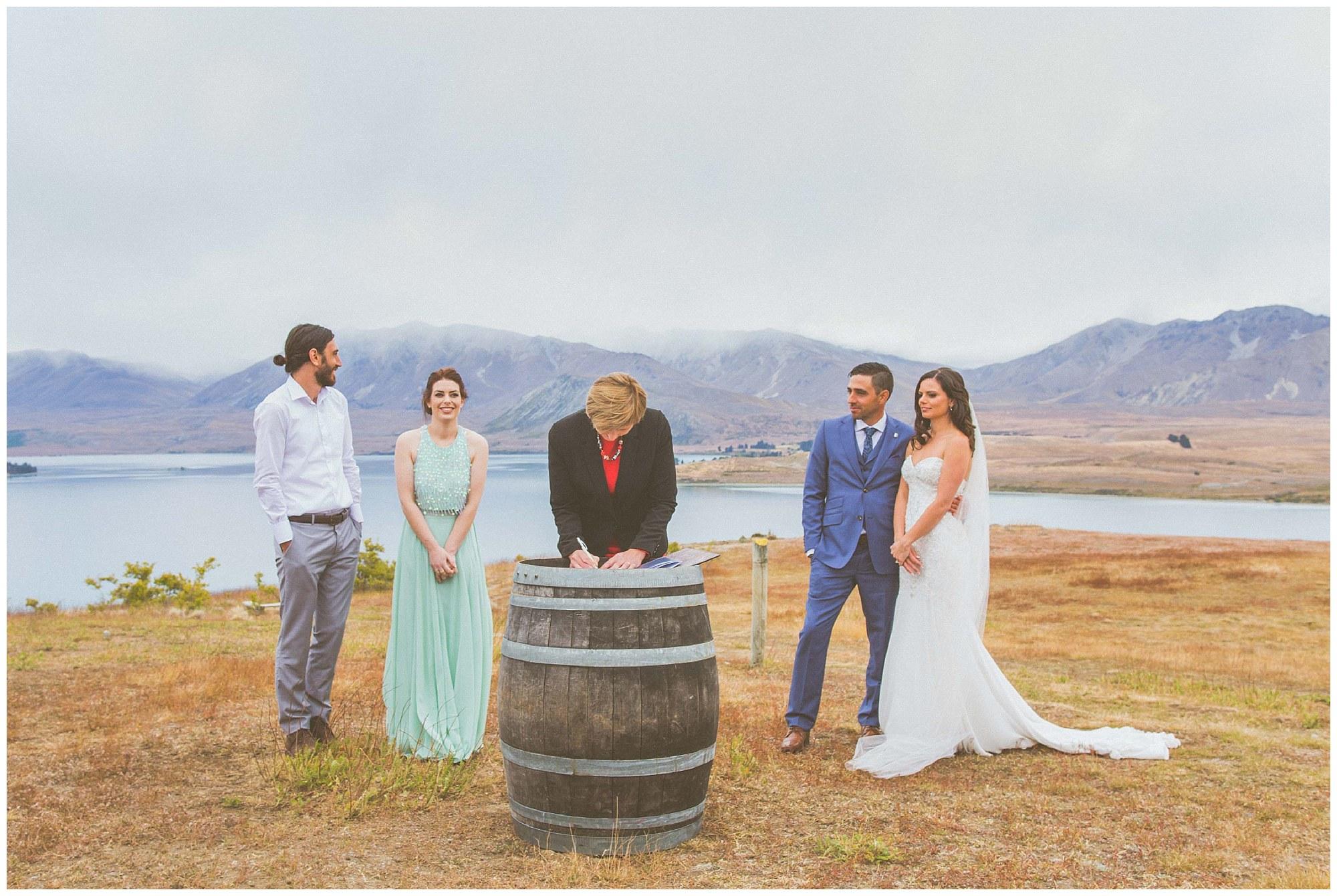 Lake Tekapo  Wedding Celebrant New Zealand