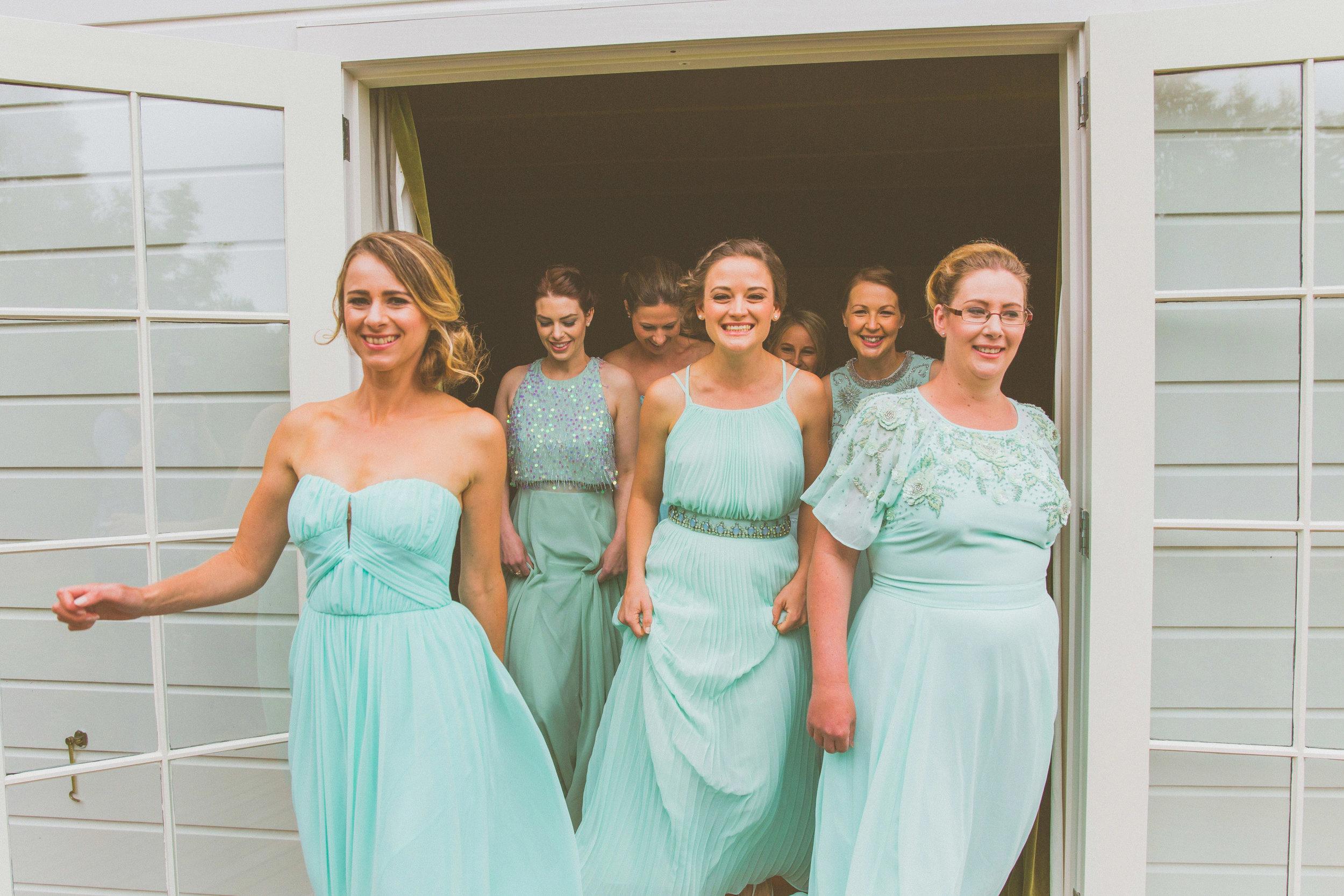 Lake Tekapo Bridesmaids dress colour