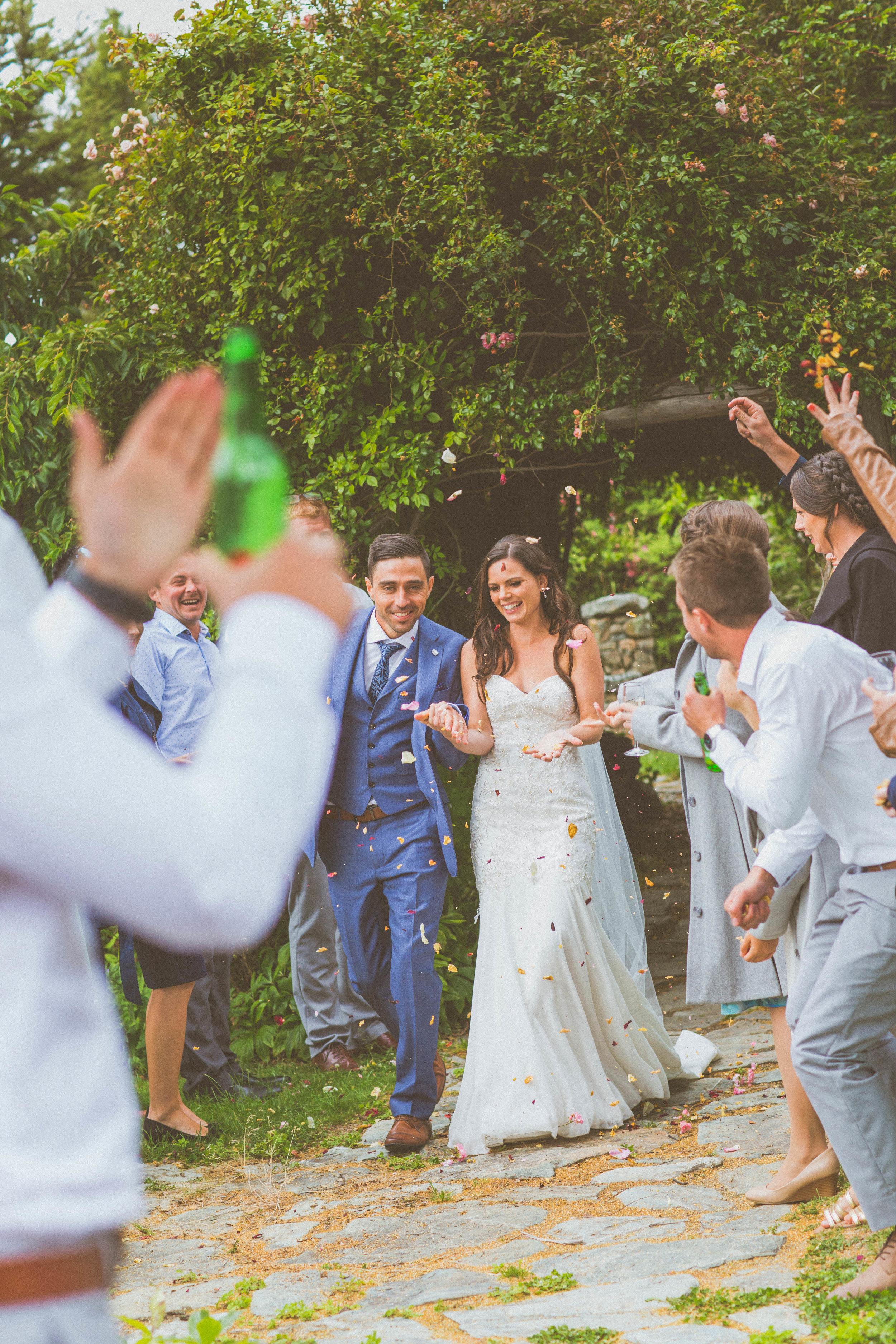 wedding reception lake tekapo