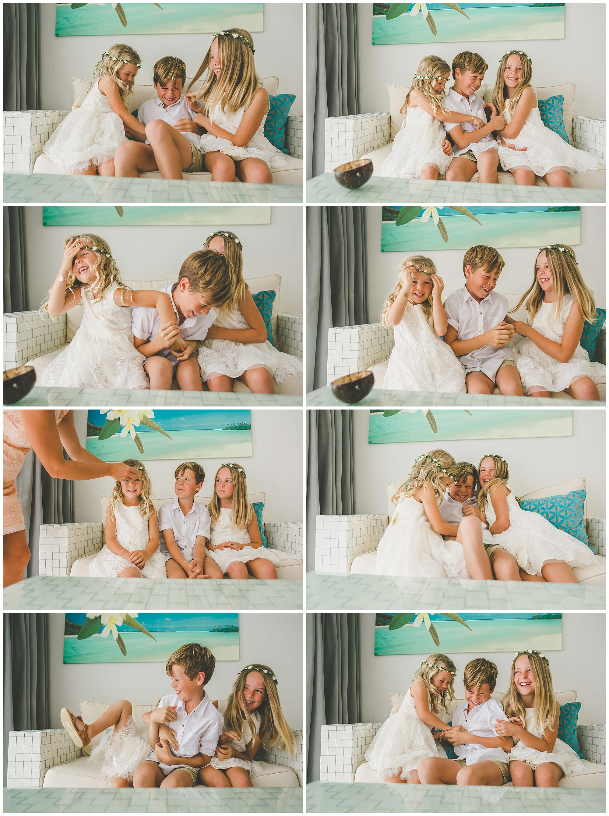 summer wedding clothes rarotonga