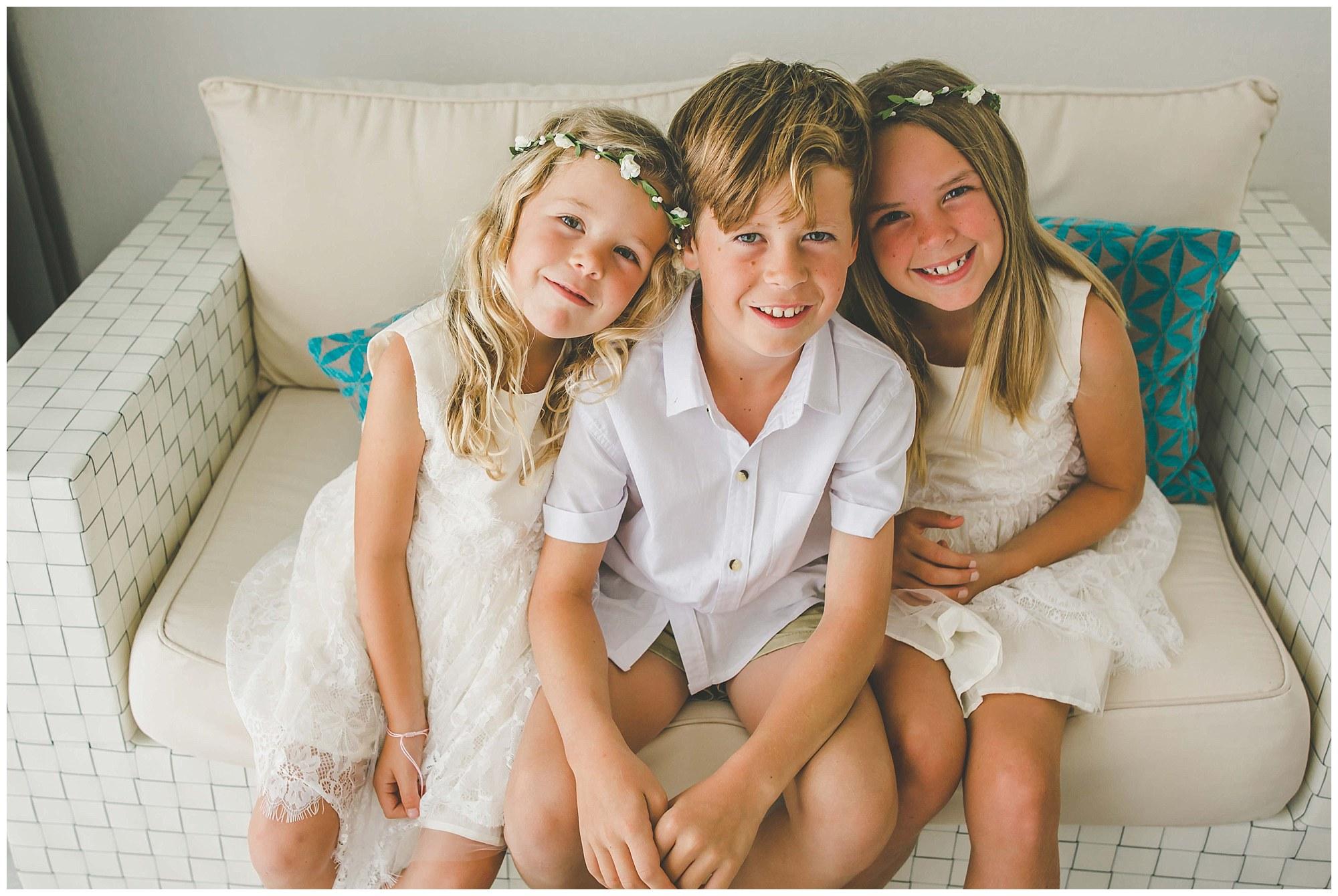 island wedding kids clothes rarotonga