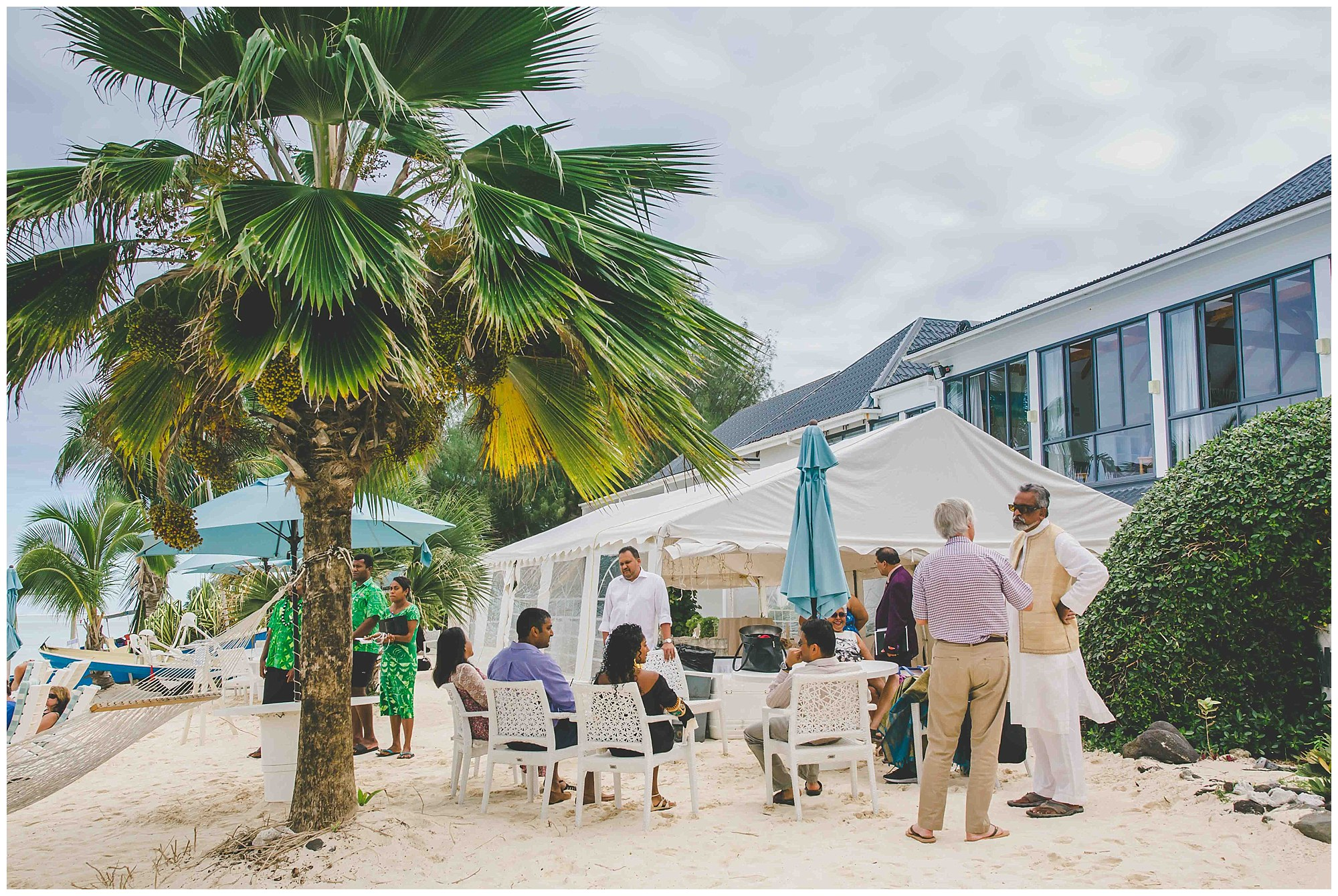 muri beach wedding venue