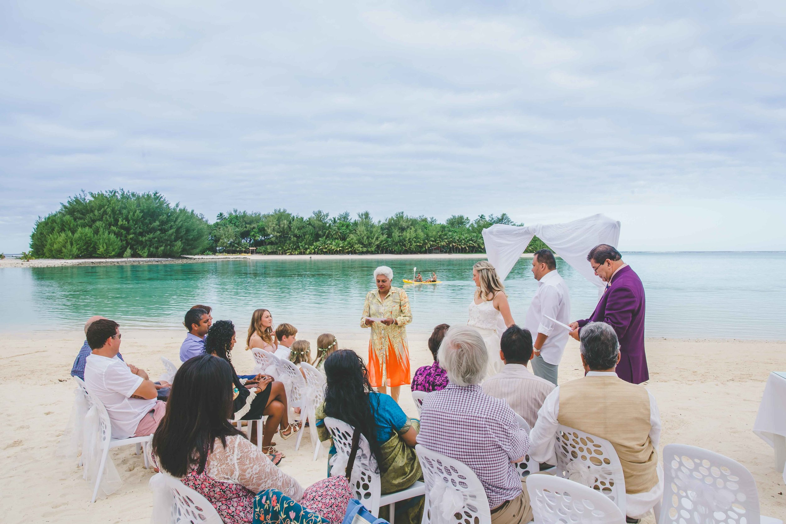 muri beach wedding photographer