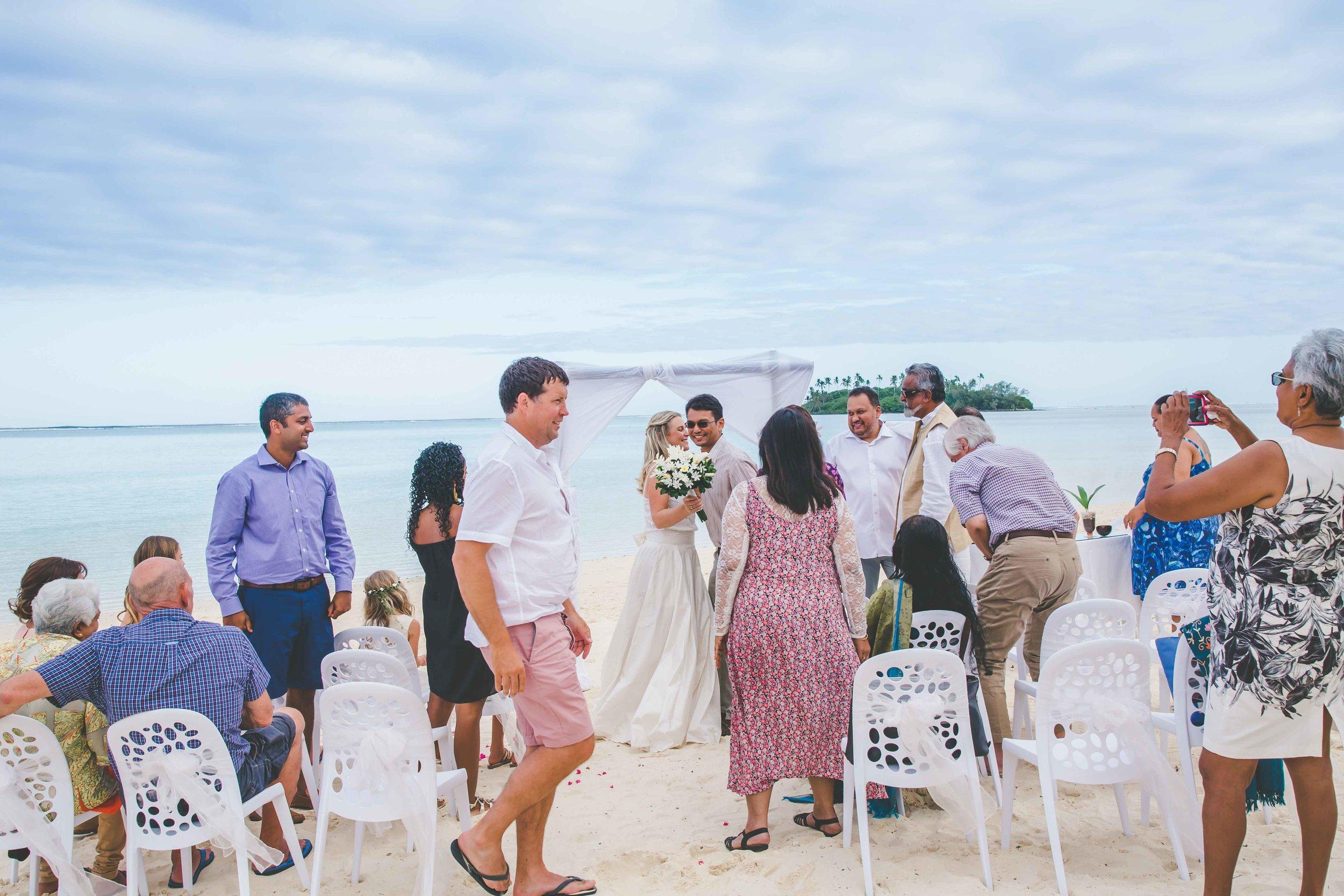rarotonga wedding photographer