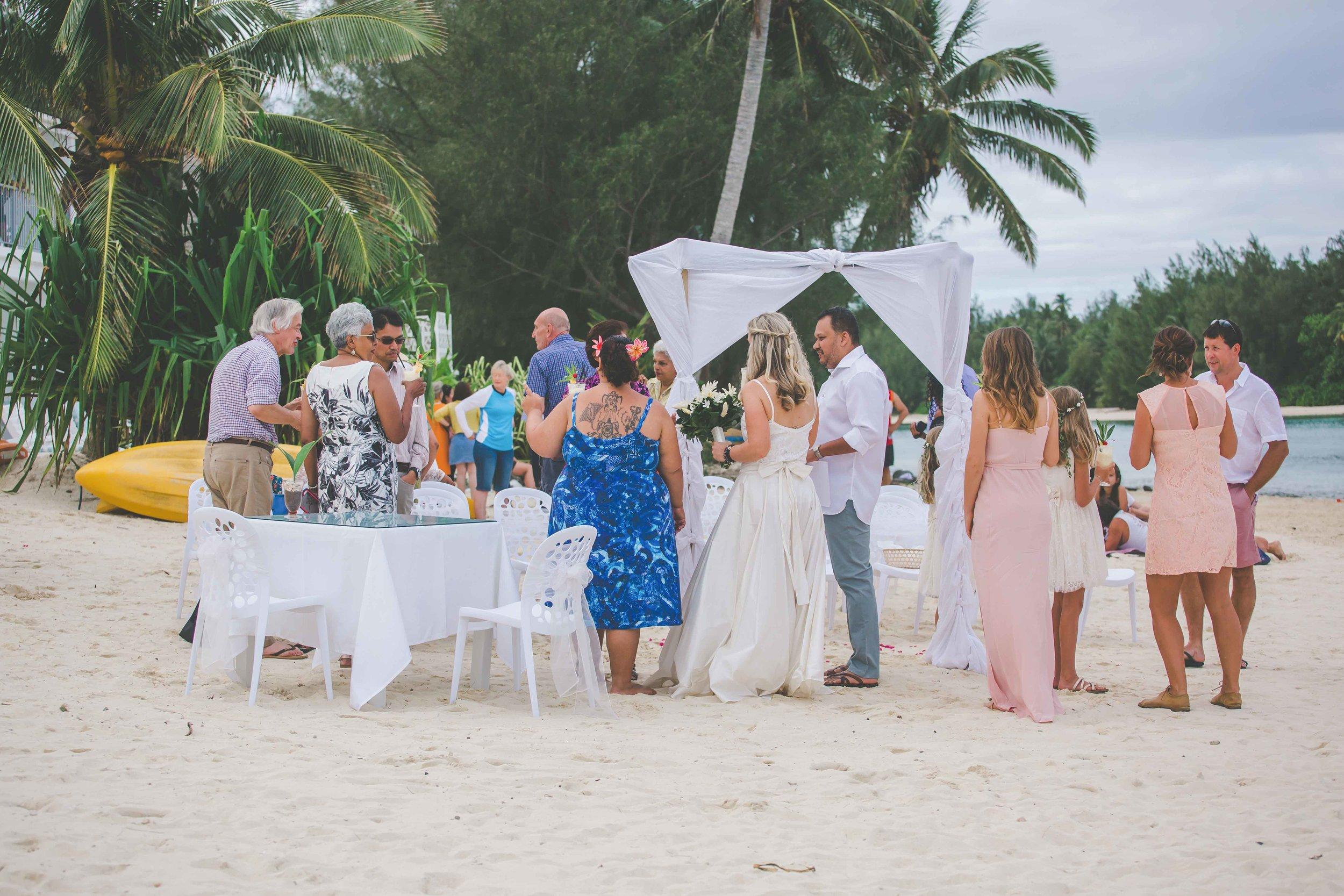 rarotonga wedding photography packages