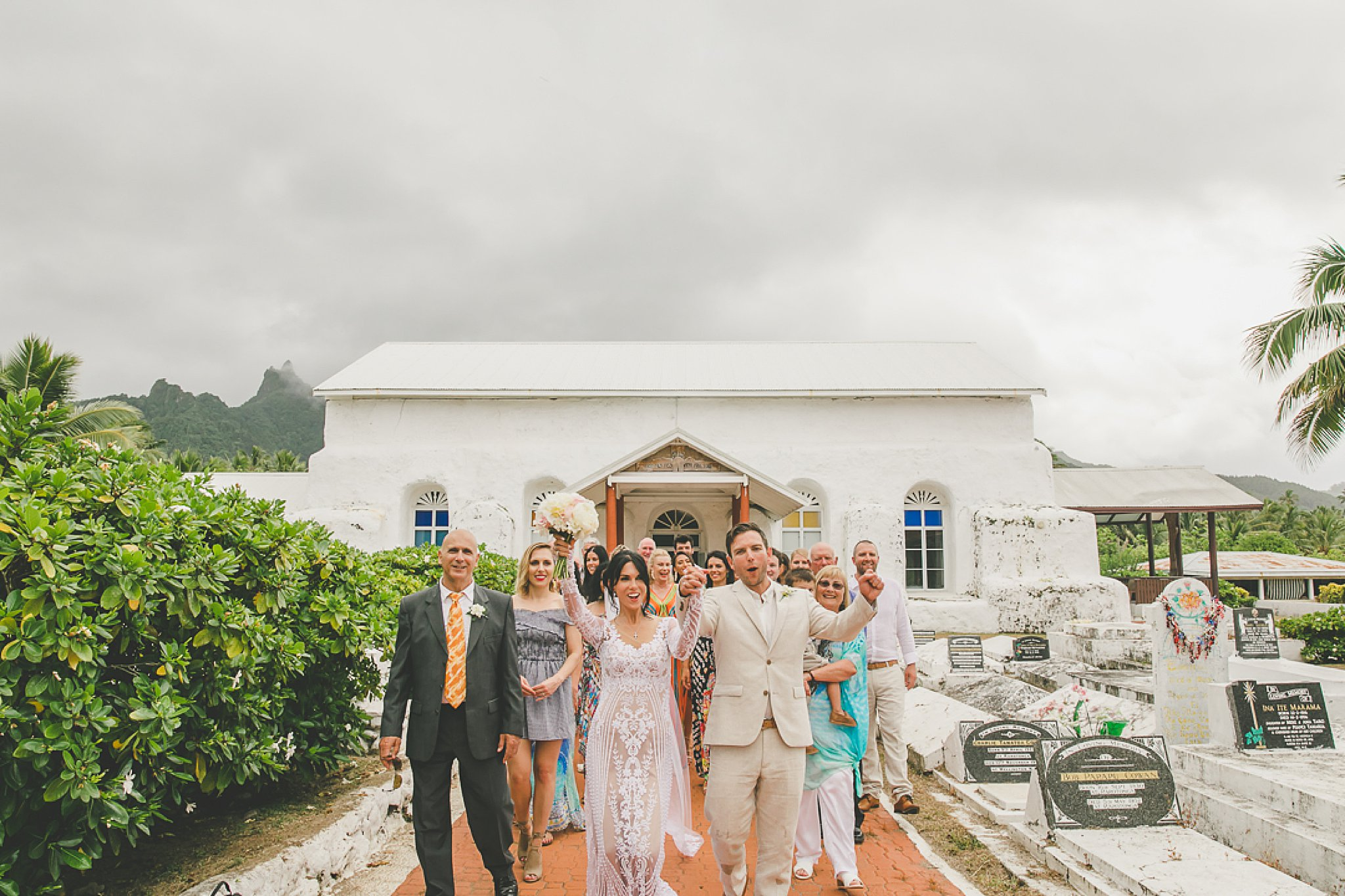 cook islands wedding