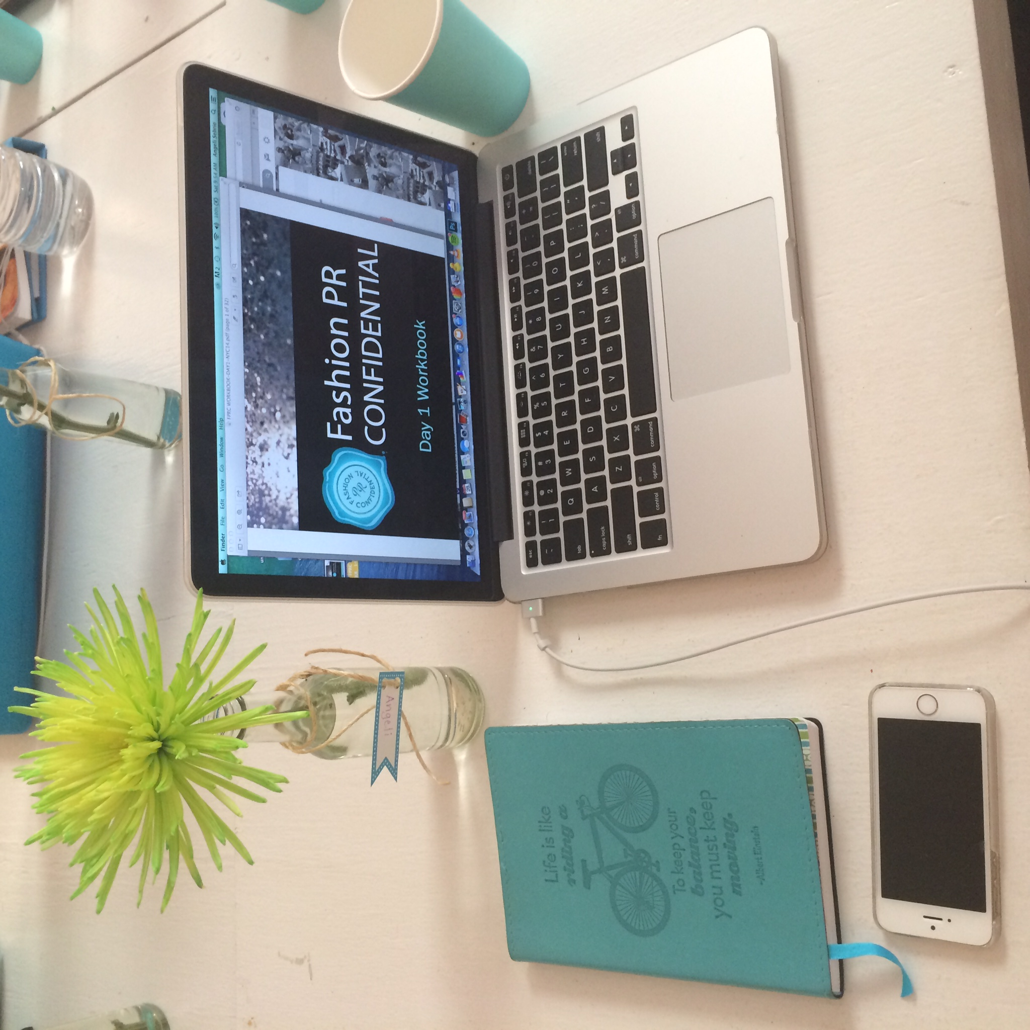 The Fashion PR Con Day 1 Workbook!