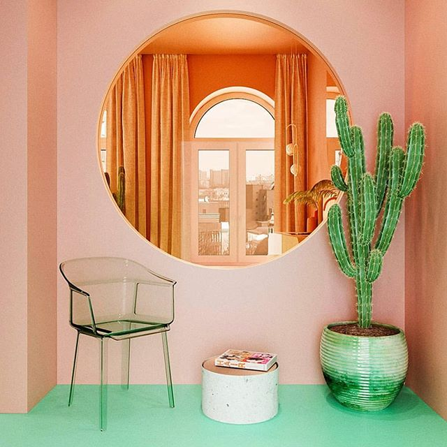 Can we work from here? 🌵✨ ‍ // @reutovdesign