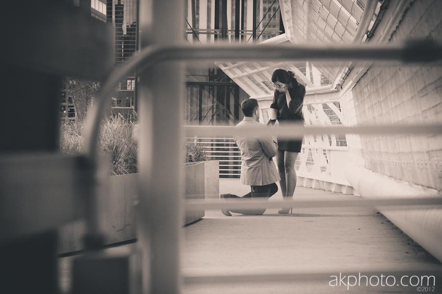 AKPHOTO Surprise Engagement Photography