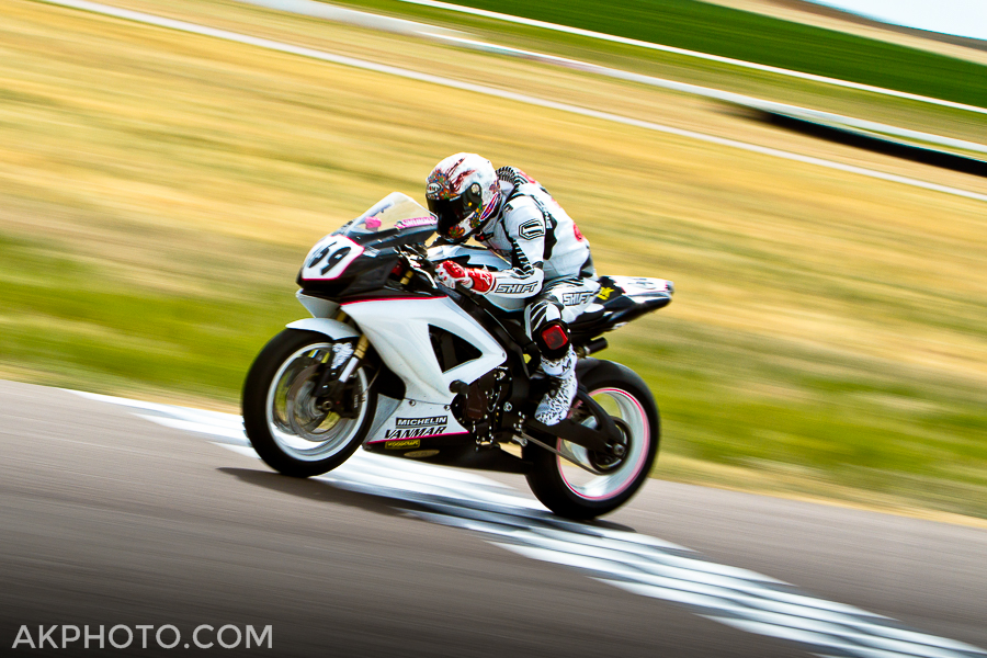 Motorcycle Panning - click to enlarge