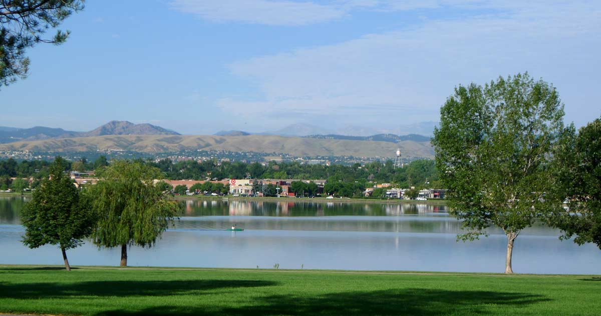 Sloan's Lake - nothing fancy, eh?