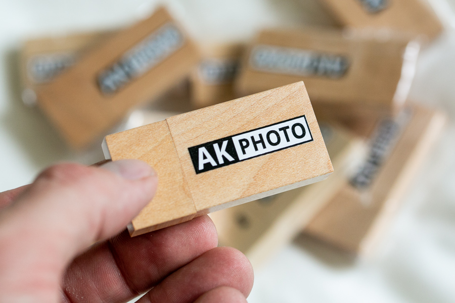 AKPHOTO custom branded USB drives from USB Memory Direct