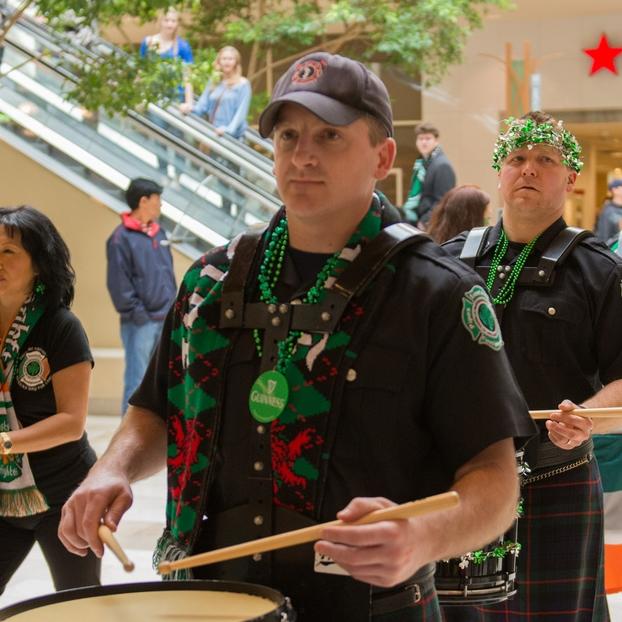 Mark Givens, Side Drummer