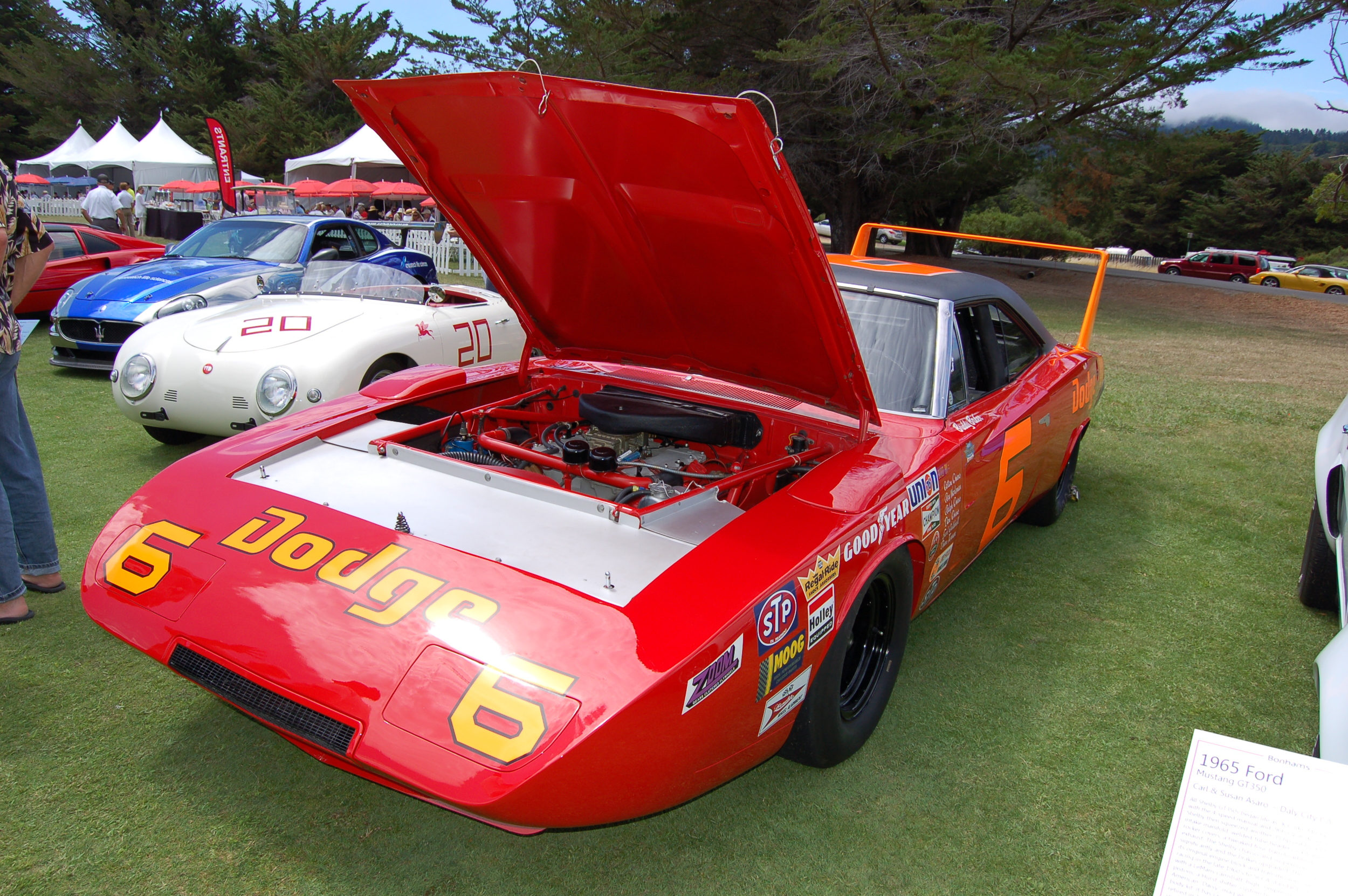 This poor Dodge Charger Daytona refused to start in front of the judges!