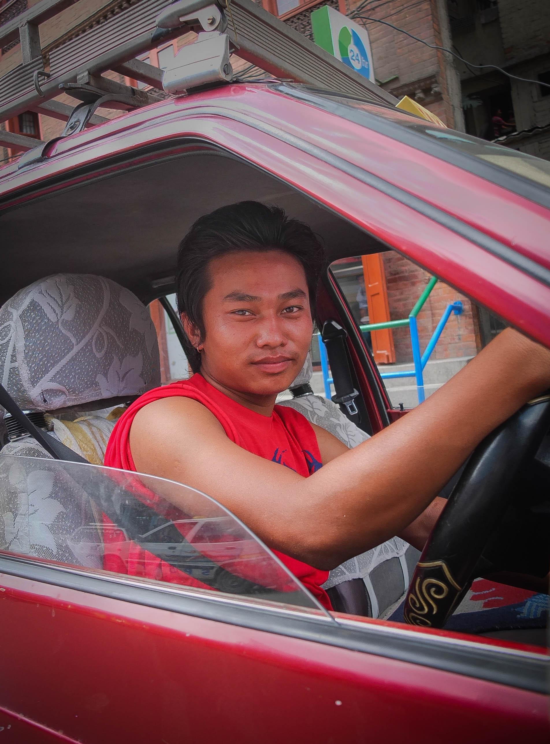 Kathmandu Taxi Service.