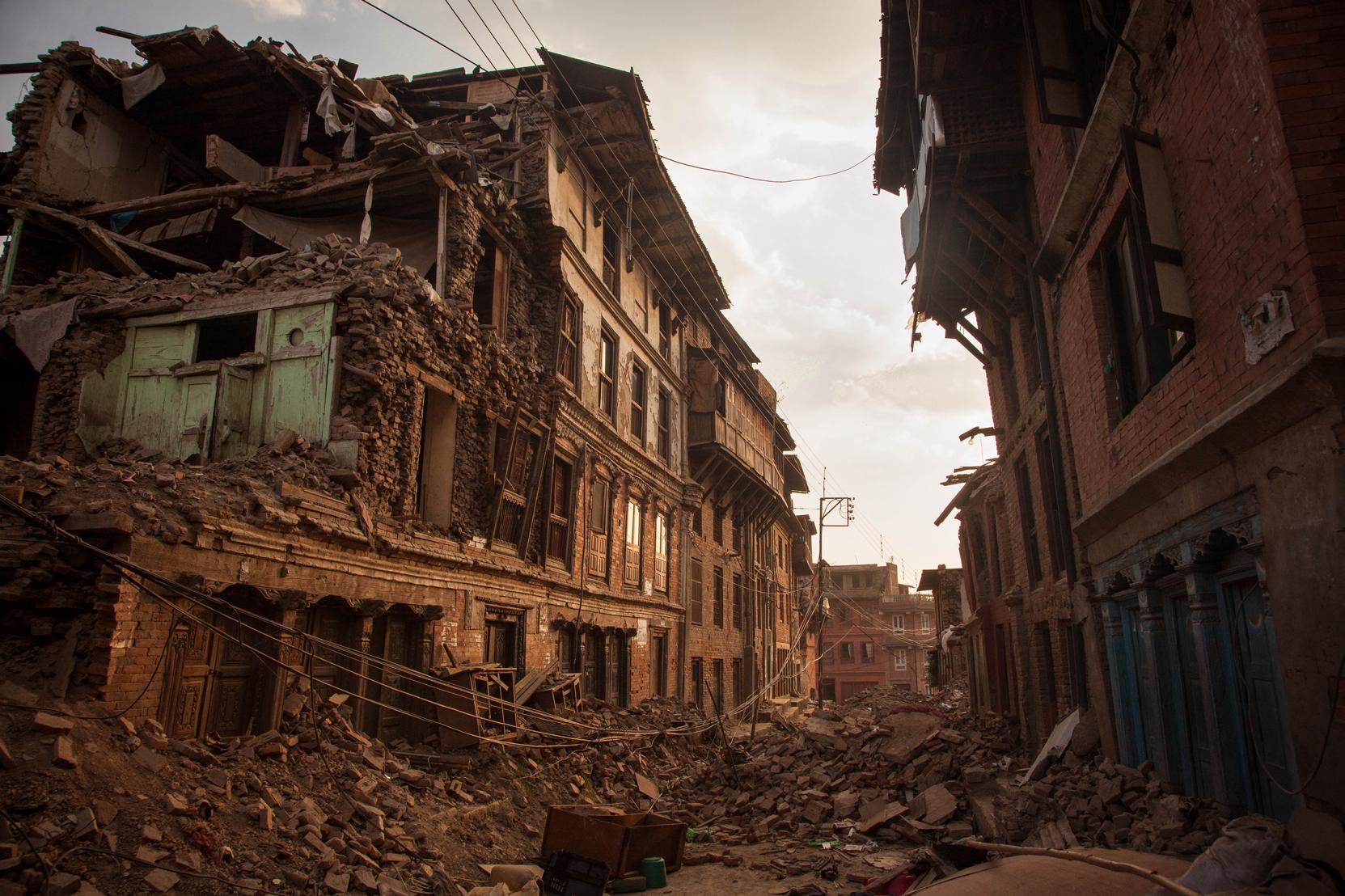 Bhaktapur Street Life.