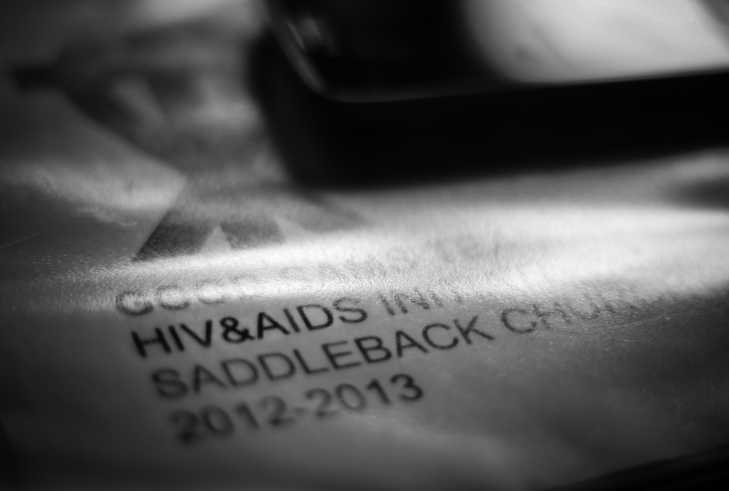 HIV/AIDS Outreach.