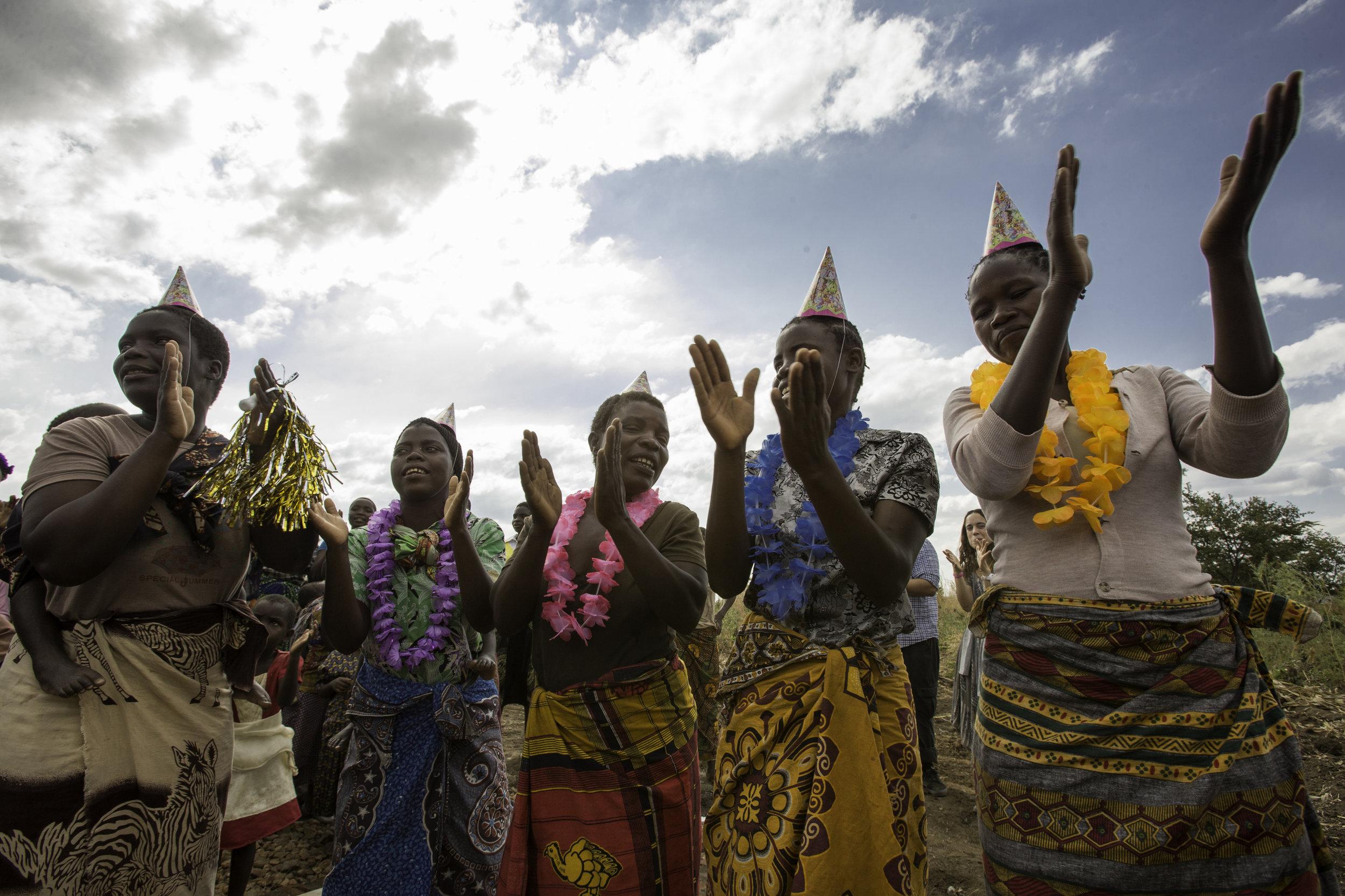 Celebrating Villagers