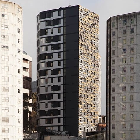 300 unit specialised student accommodation in the Auckland CBD - total value $43m