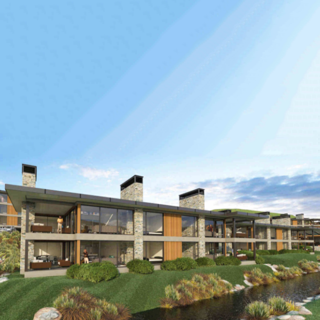 50 luxury apartments in Wanaka - total value $93m