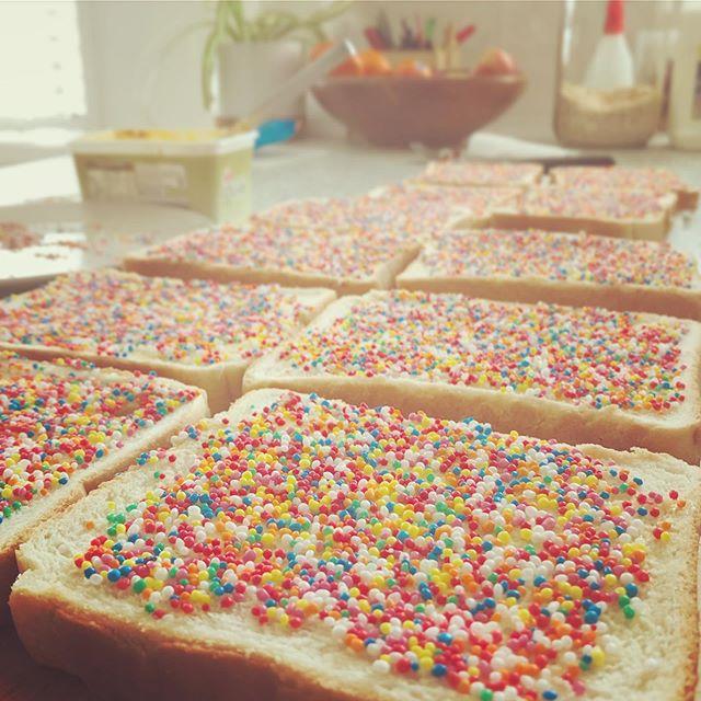 262/365: I believe in fairy bread
