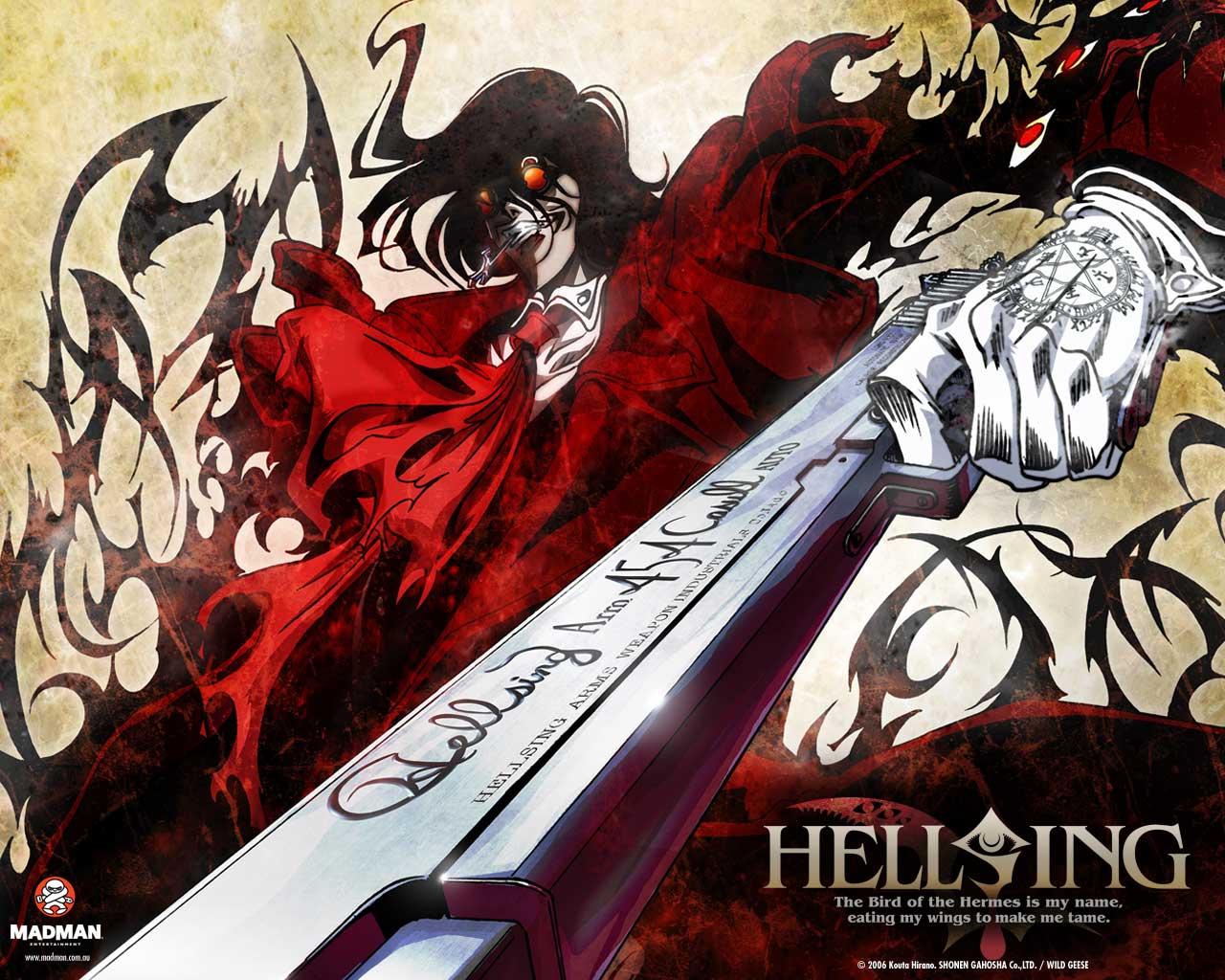 Hellsing Anime DVD Cover