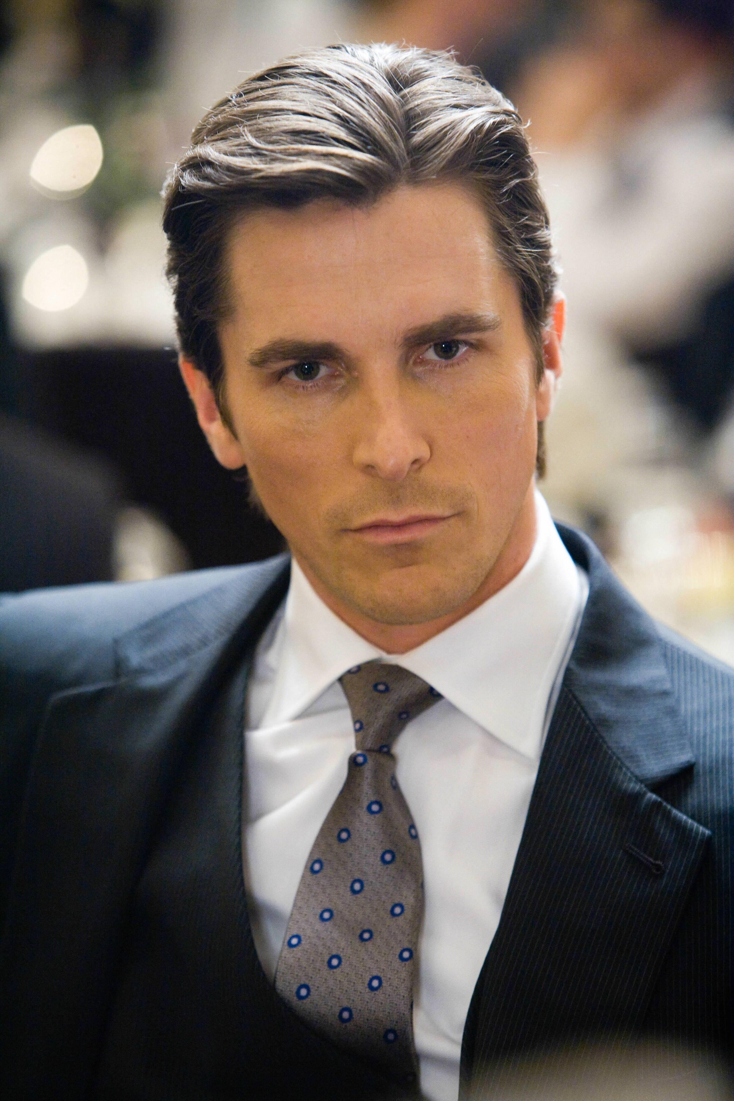 Christian Bale from Dark Knight movie still