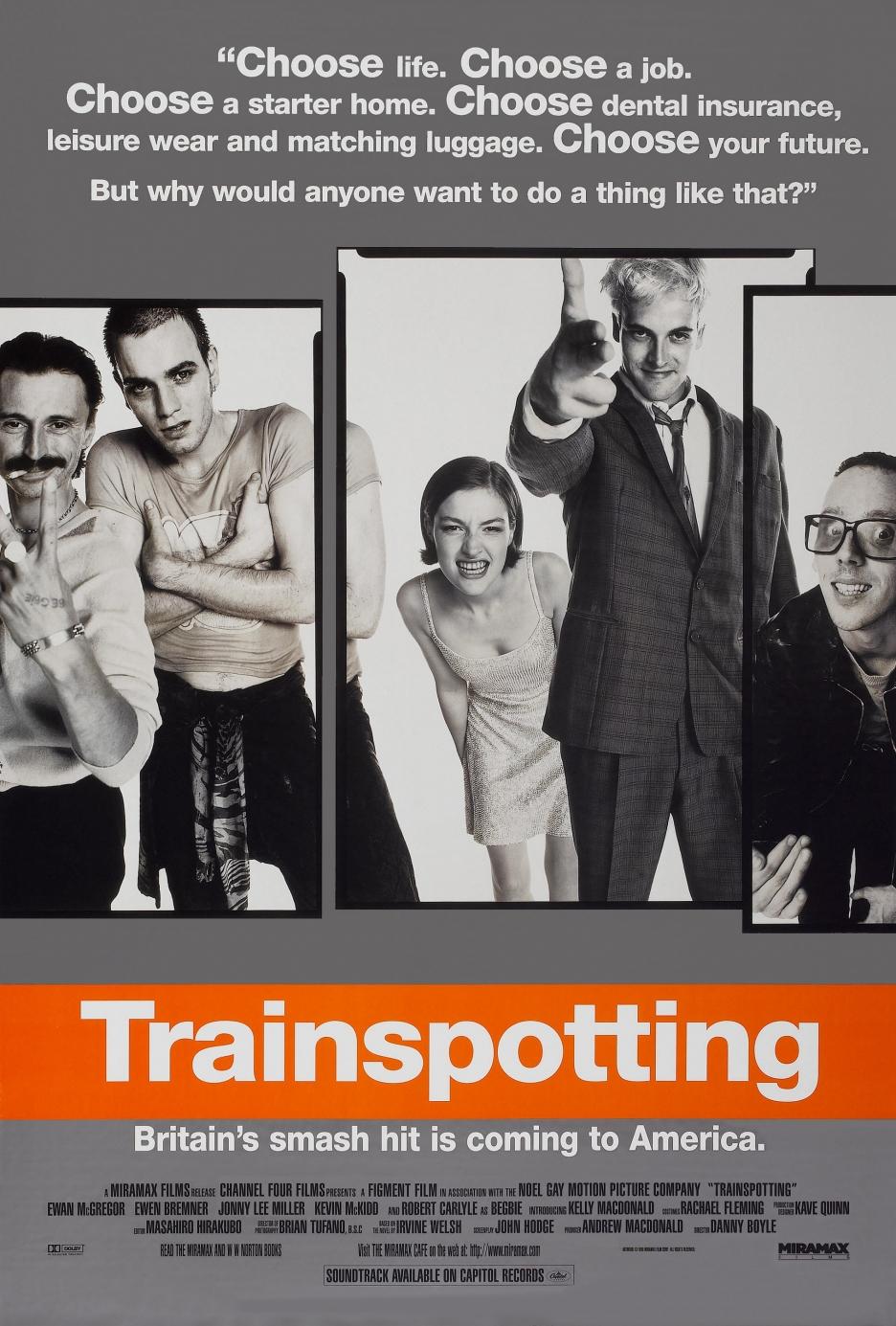 Trainspotting movie poster
