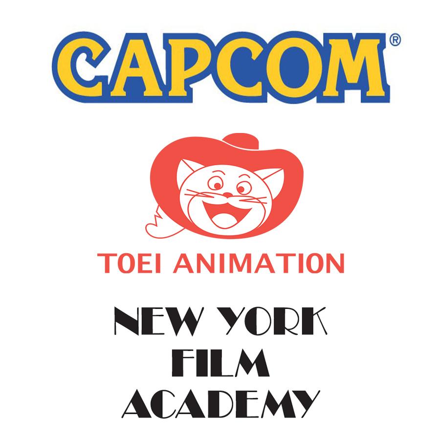 Capcom, Toei Animation, New York Film Academy