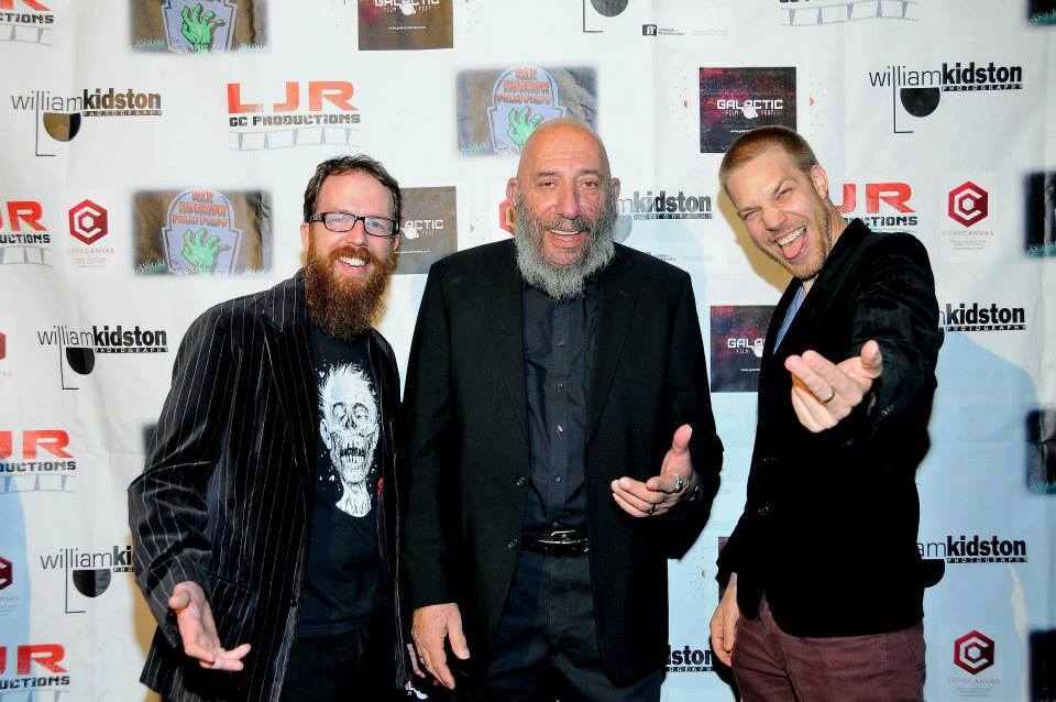 Sid Haig, Brad Palmer and Kyle Rea