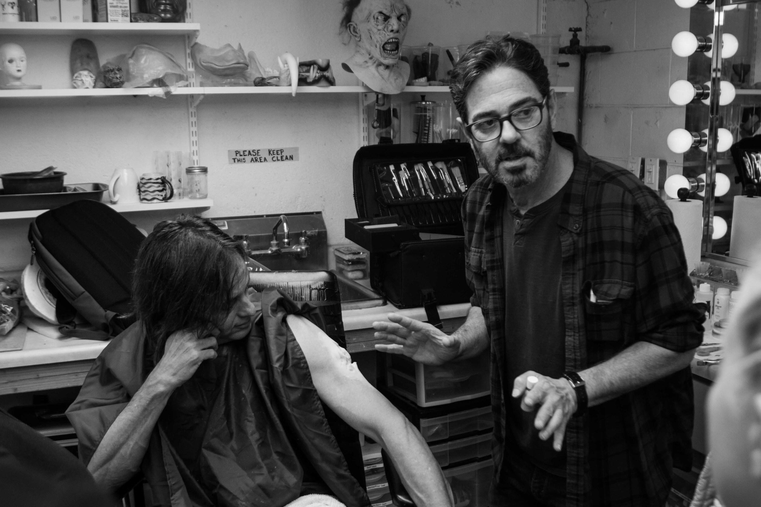 Steve Johnson, Bruna Nogueira, Chris Pitman - Kyle Rea Photography - SFX Special Effects