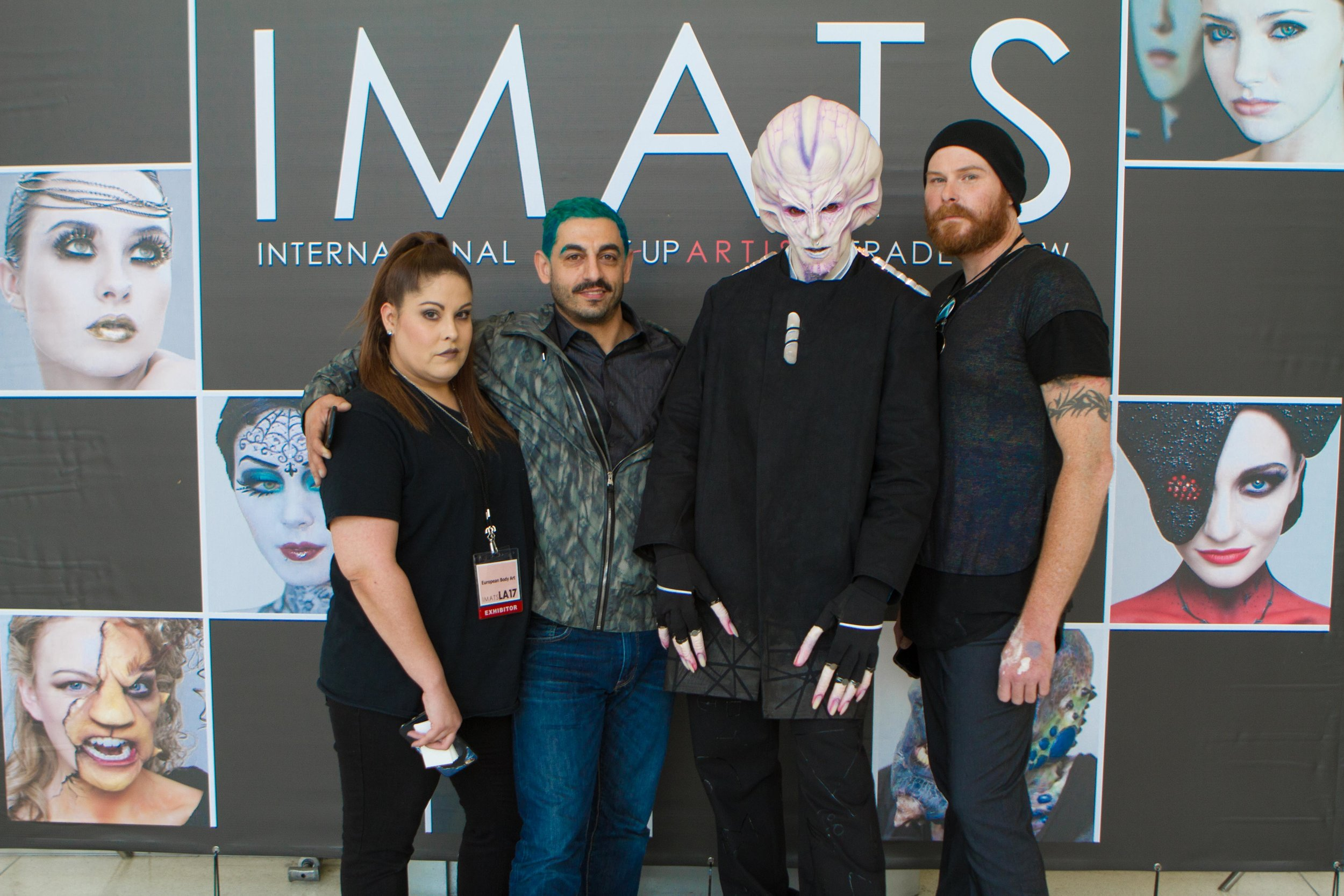 IMATS 2017 - RBFX Greg Lightener & Ernie Omega Alien SFX (www.KyleReaArt.com - www.KyleReaPhotography.com) 16.jpg