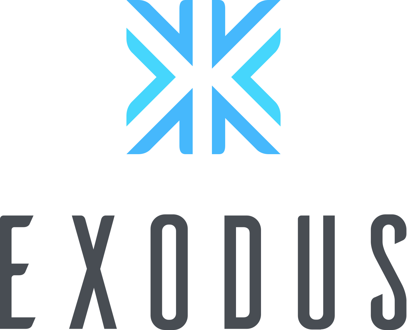 Exodus cryptocurrency wallet logo