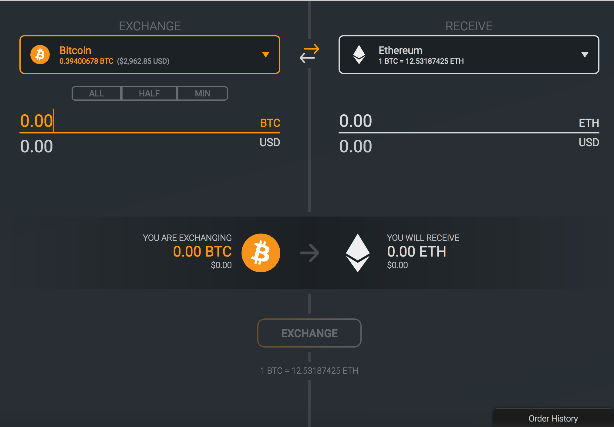 Exodus Wallet Exchange