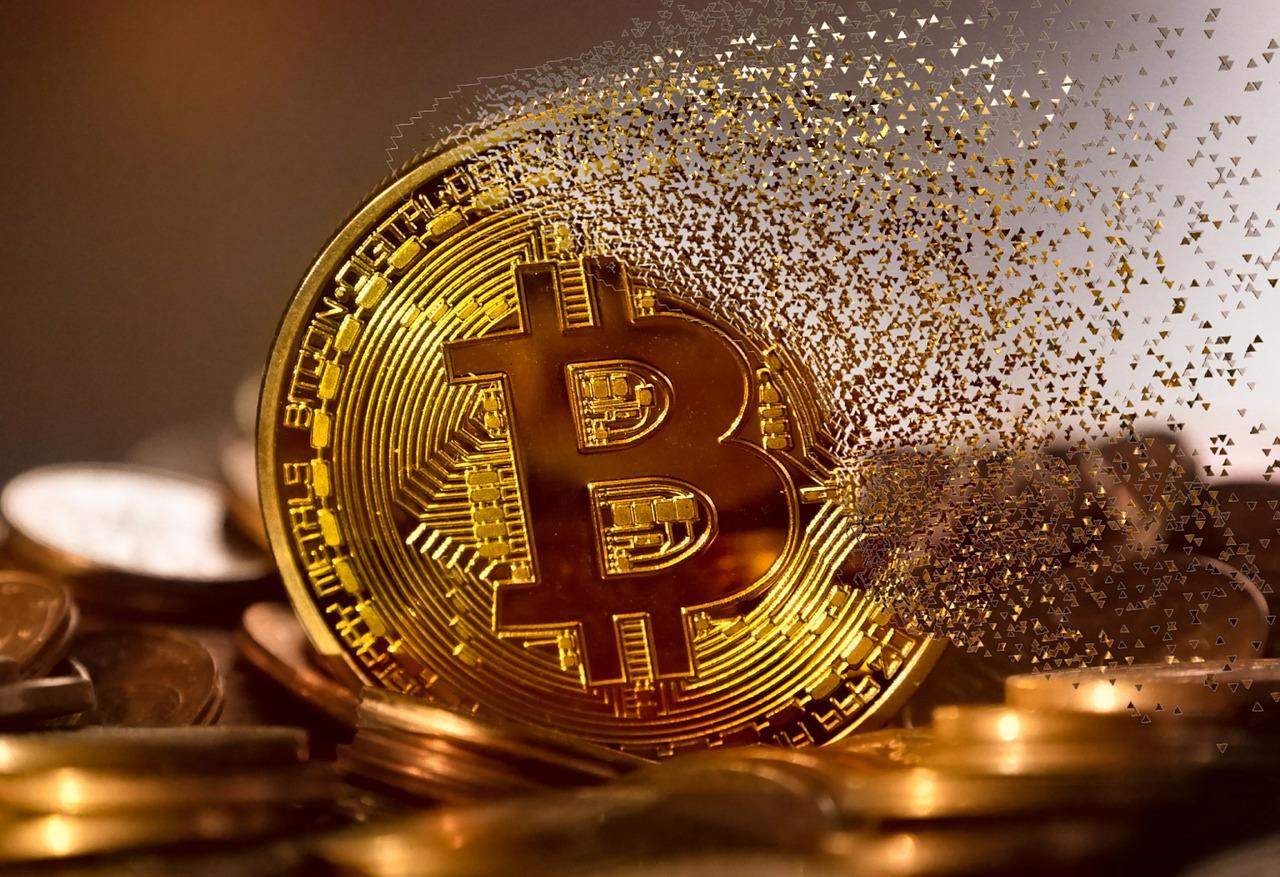 Bitcoin fading away