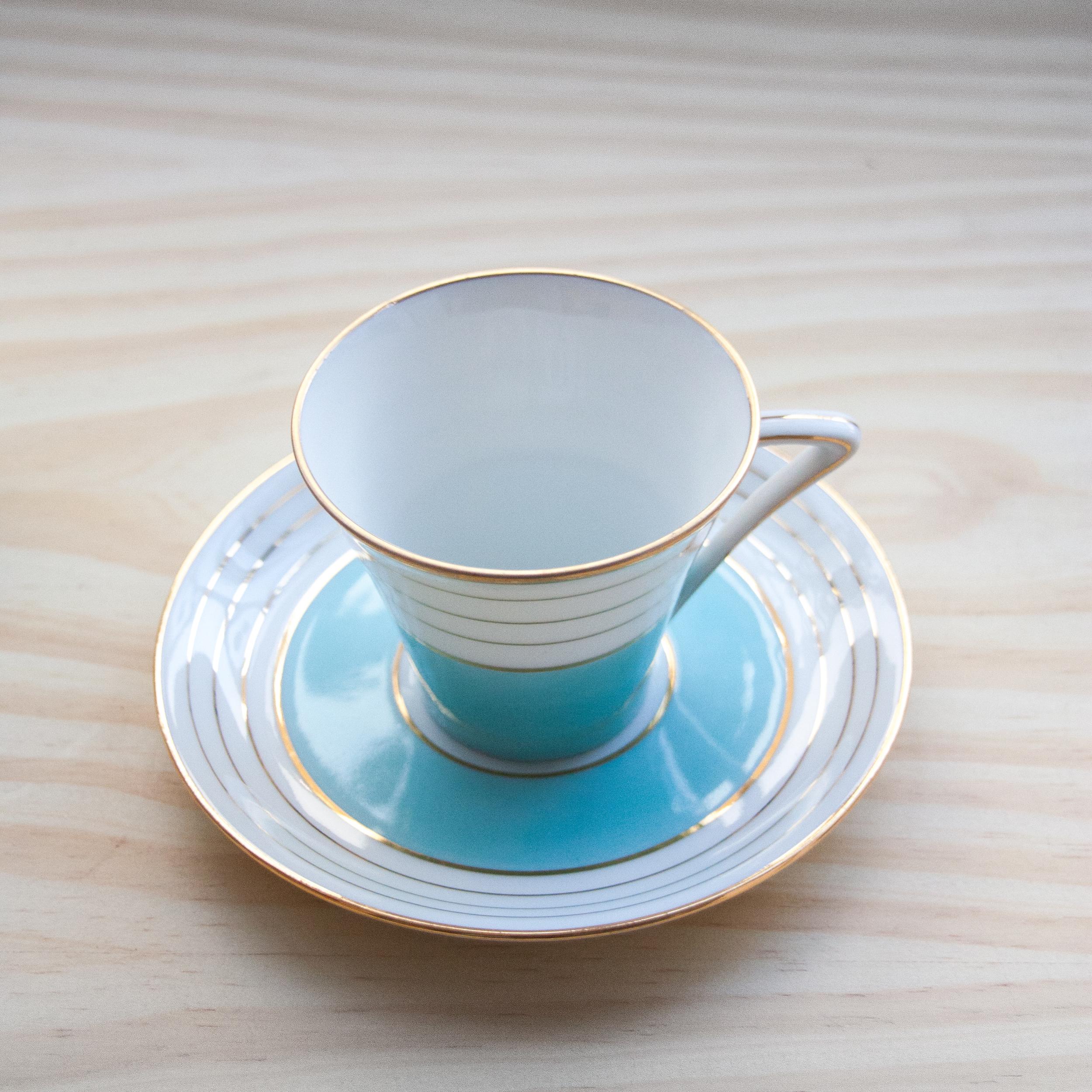 Tasse café Legrand - porcelaine de Limoges